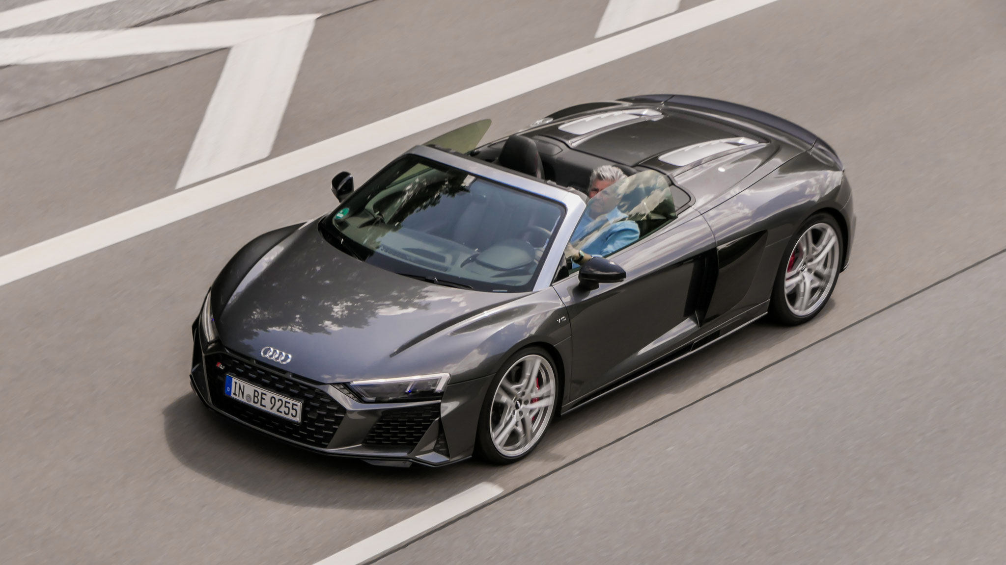Audi R8 V10 Spyder - IN-BE-9255