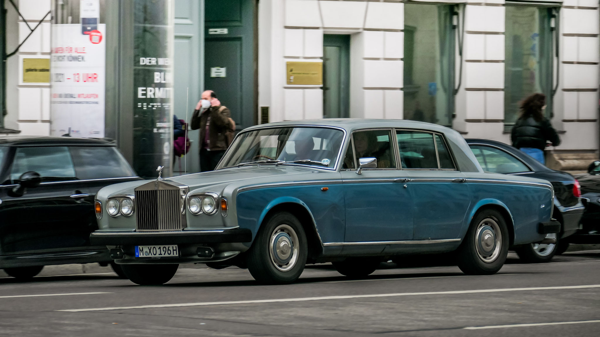 Rolls Royce Silver Shadow - M-XO-196H