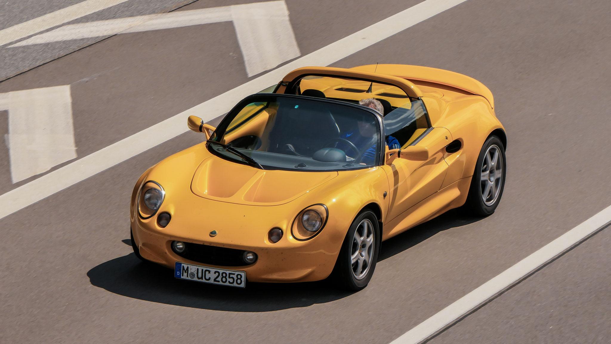 Lotus Elise S1 - M-UC-2858