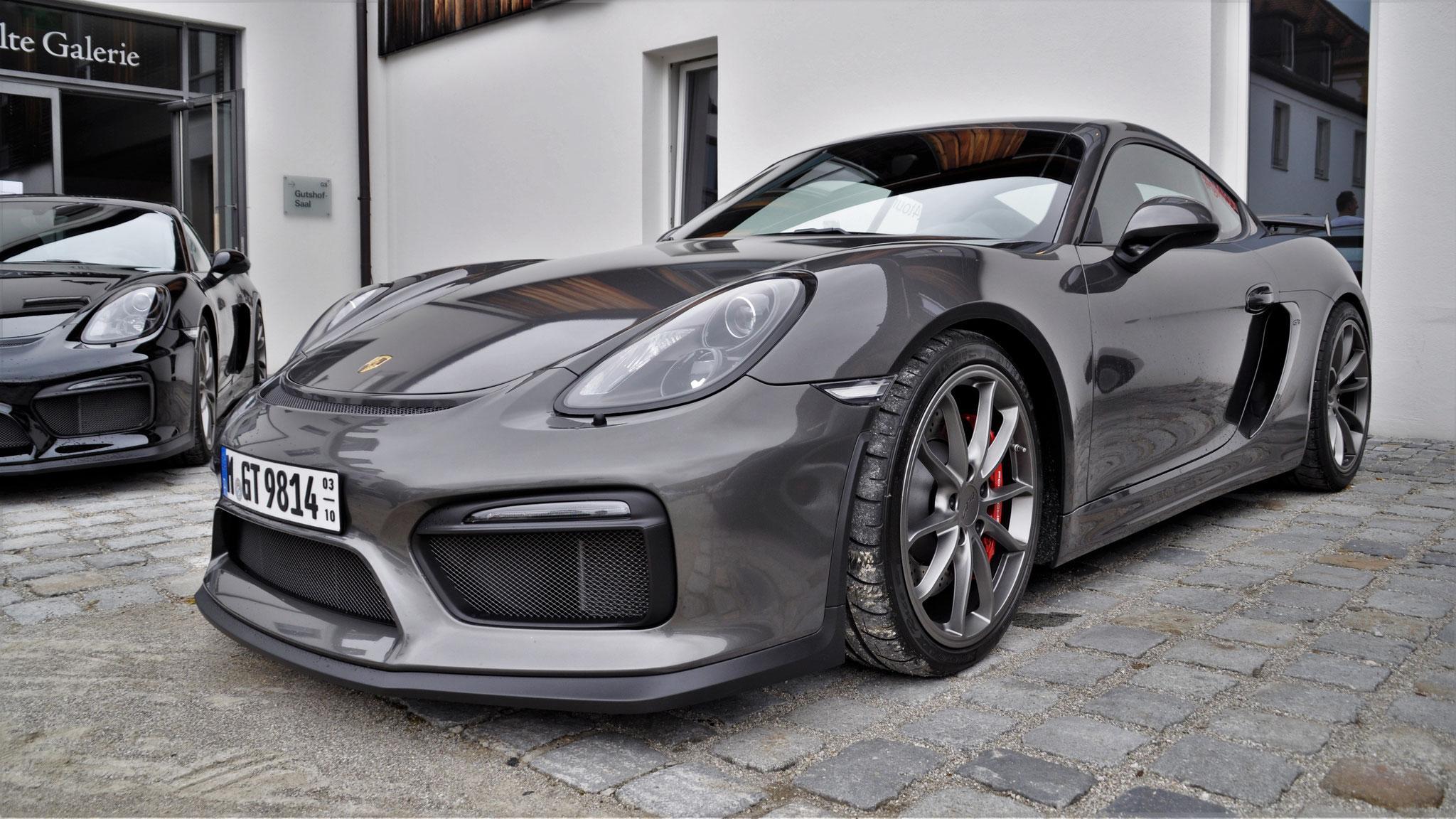 Porsche Cayman GT4 - M-GT-9814