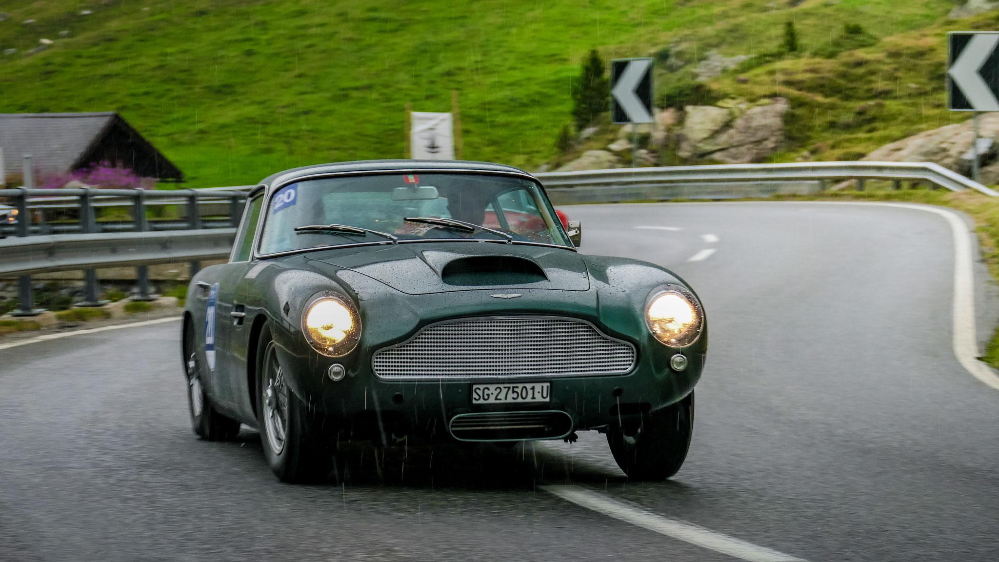 Aston Martin DB4 GT - SG-27501-U (CH)