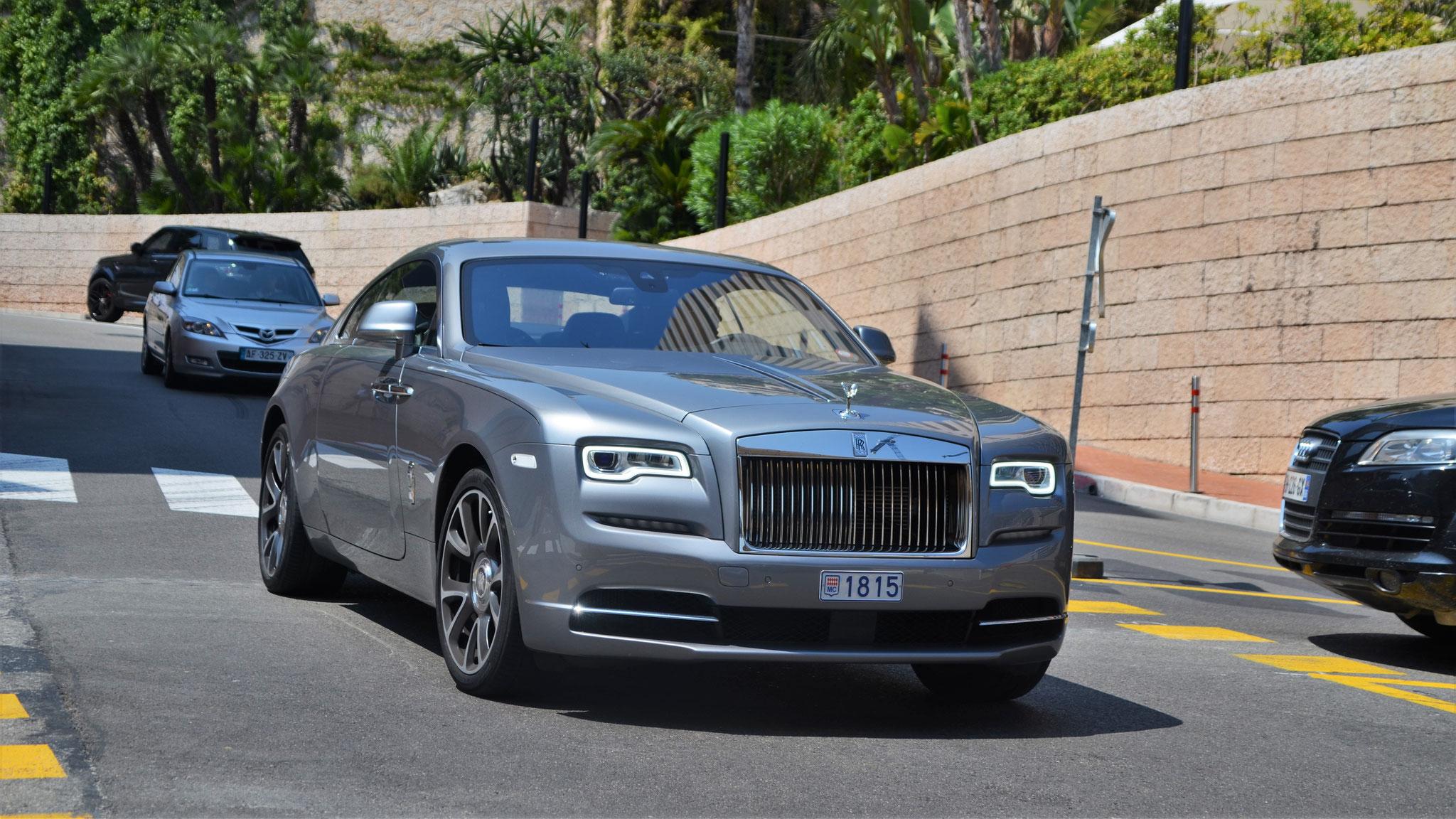Rolls Royce Wraith - 1815 (MC)