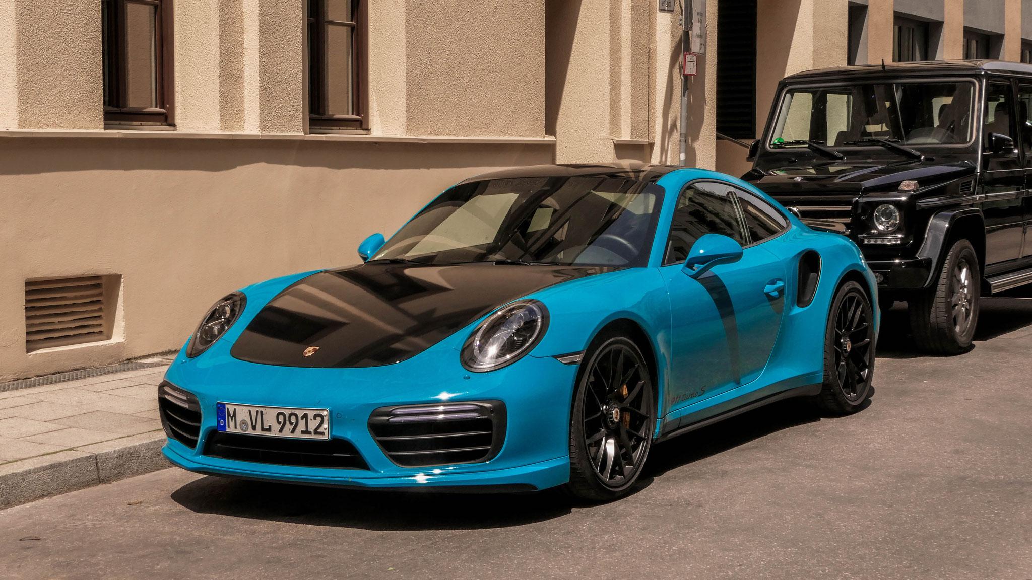 Porsche 911 Turbo - M-VL-9912
