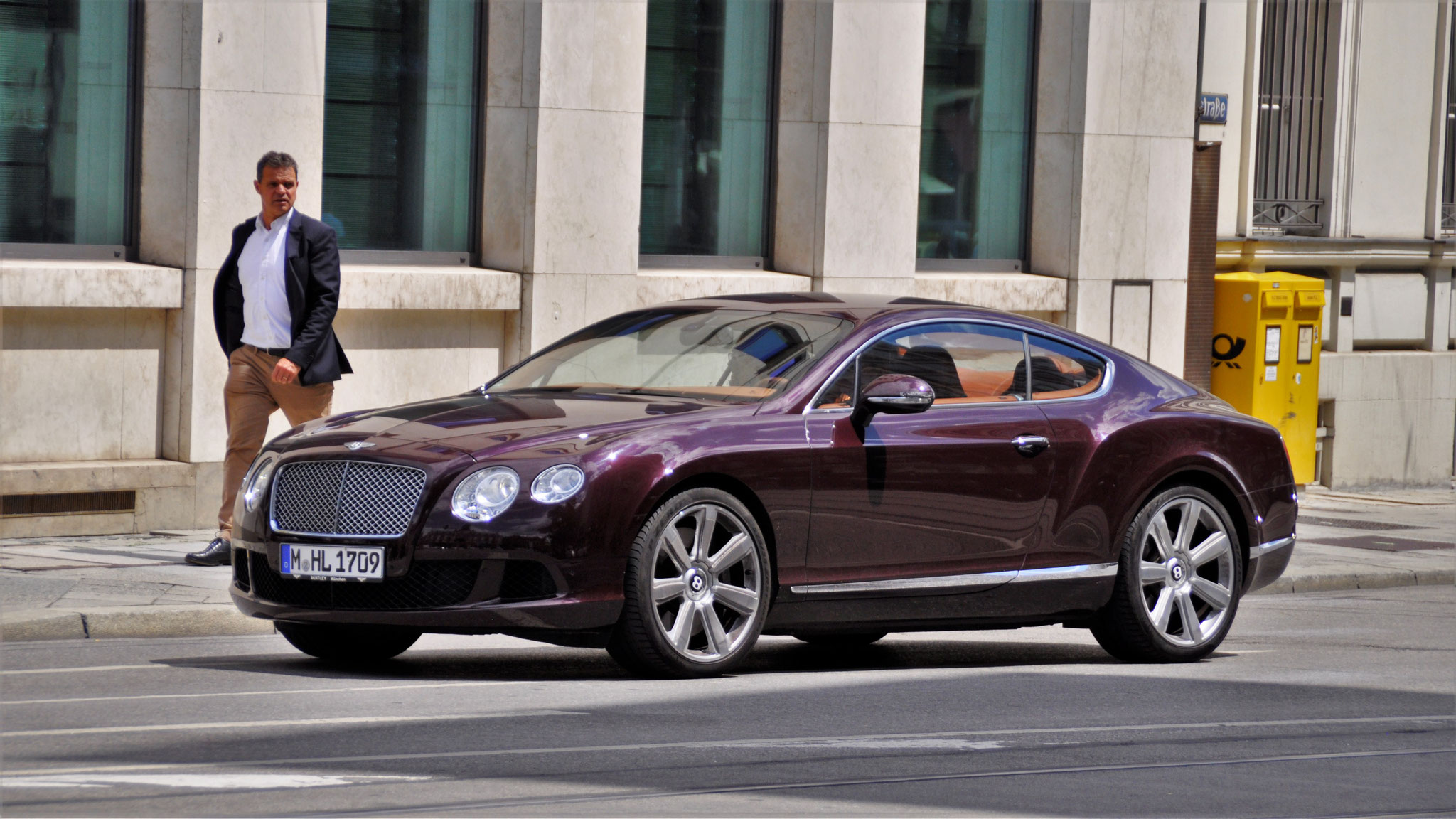 Bentley Continental GT - M-HL-1709