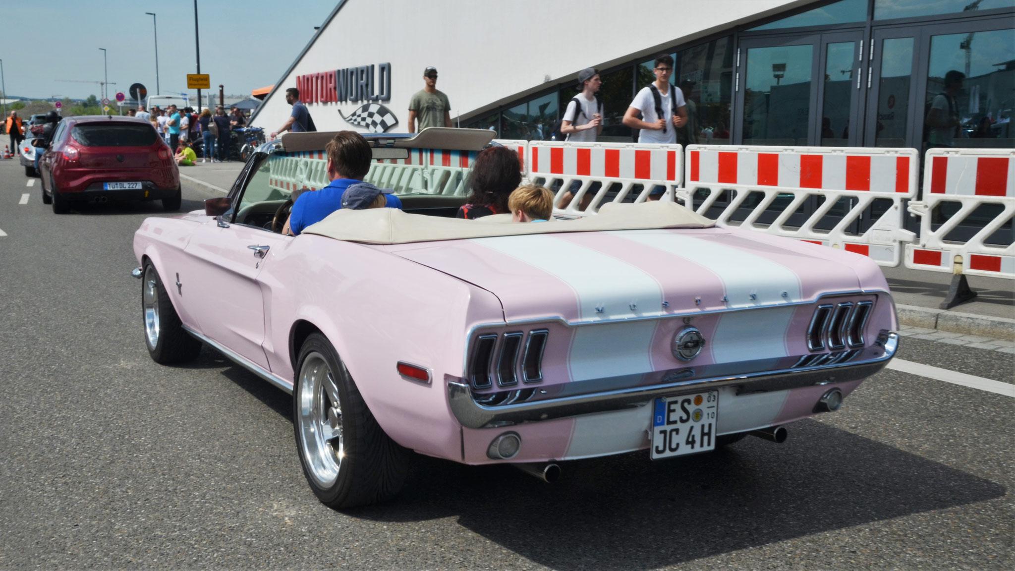 Mustang I Cabriolet - ES-JC-4H