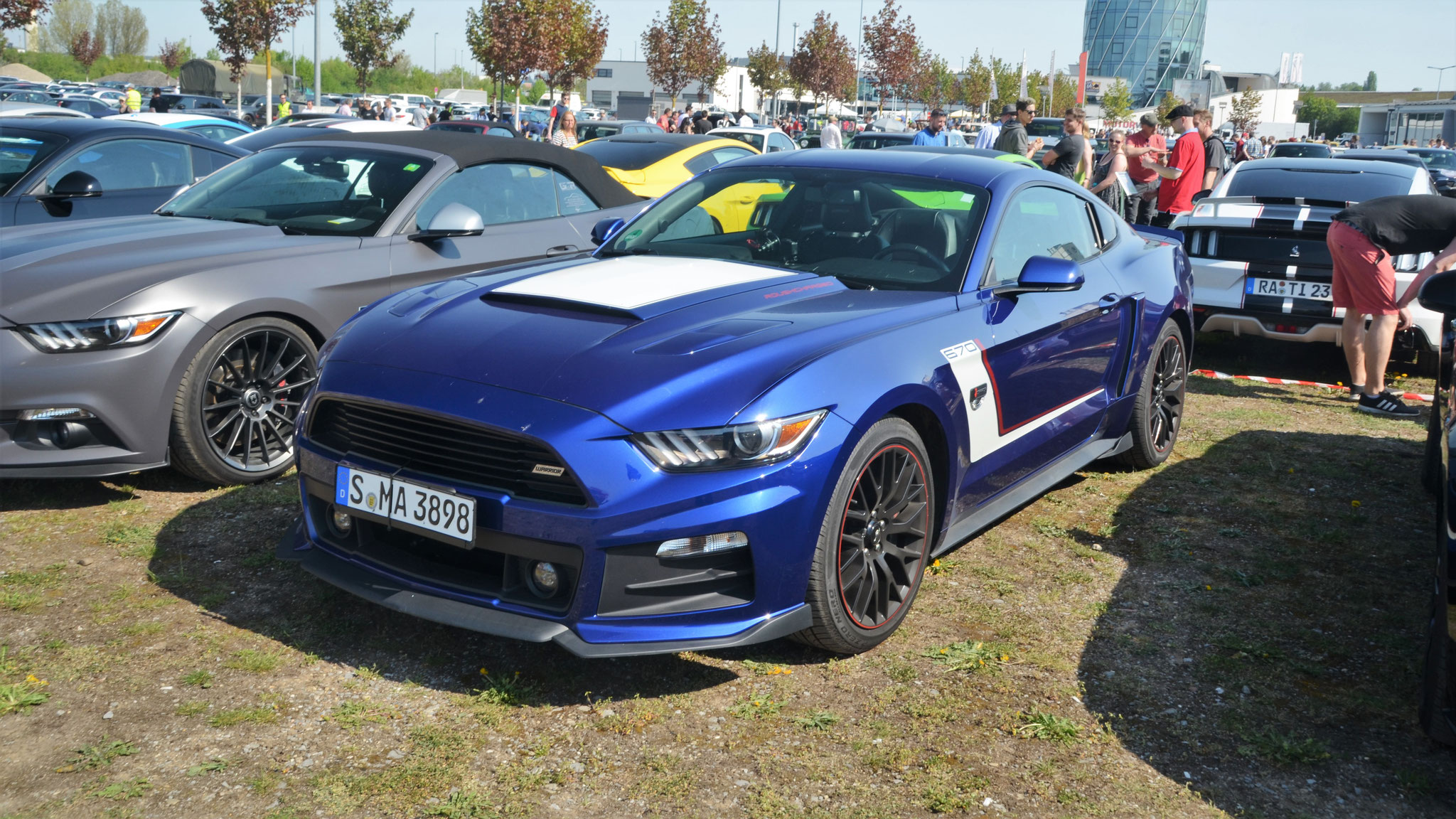 Ford Mustang Rush Warrior 670 - S-MA-3898