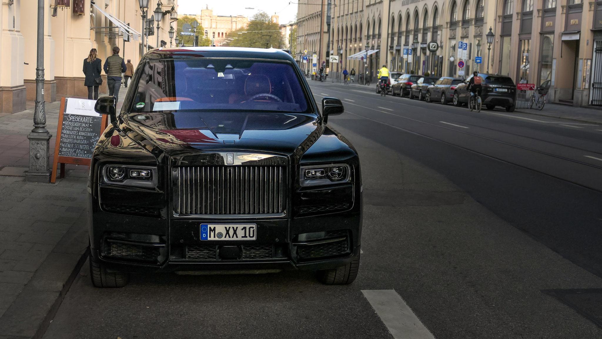 Rolls Royce Cullinan Black Badge - M-XX-10
