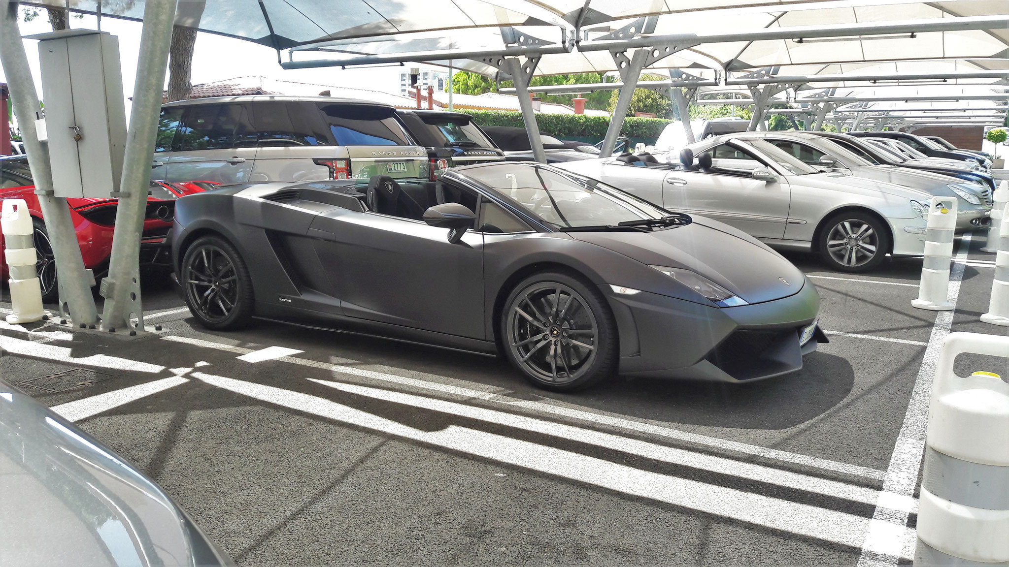 Lamborghini Gallardo LP 550 Spyder - EL-888-AD (ITA)