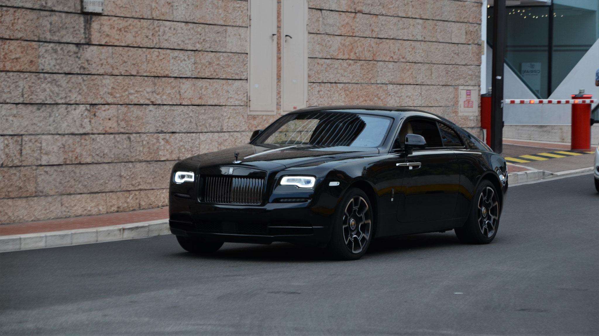 Rolls Royce Wraith - AA-7777-KK (UA)