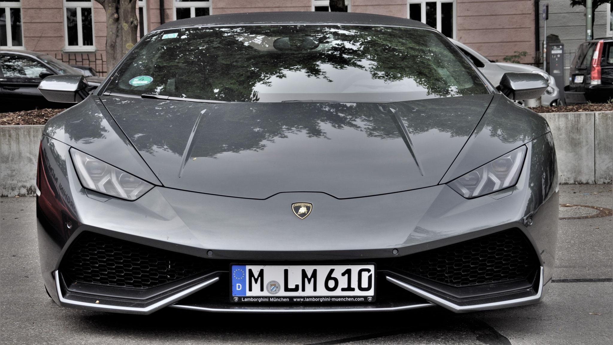 Lamborghini Huracan Spyder - M-LM-610