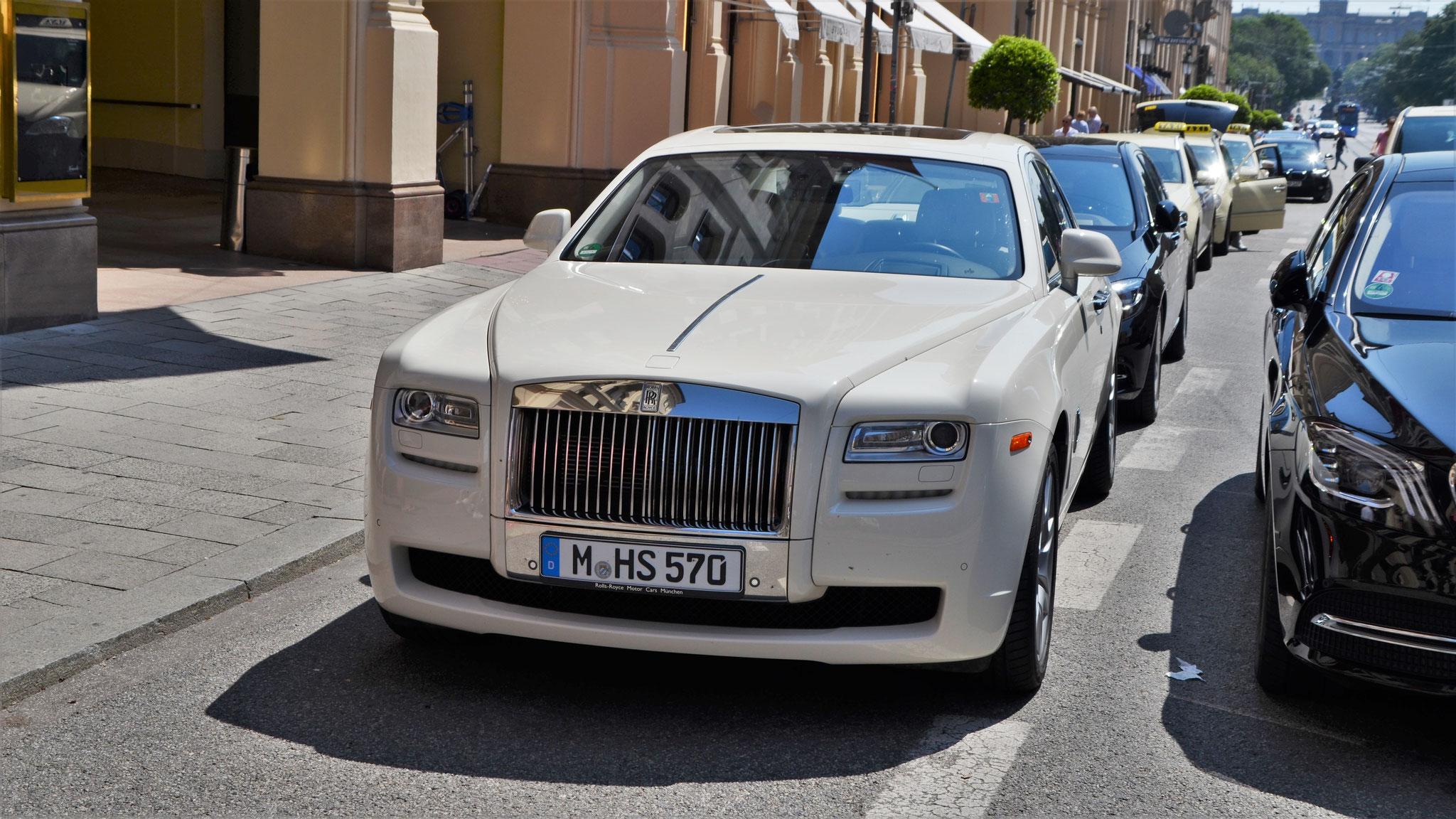 Rolls Royce Ghost - M-HS-570