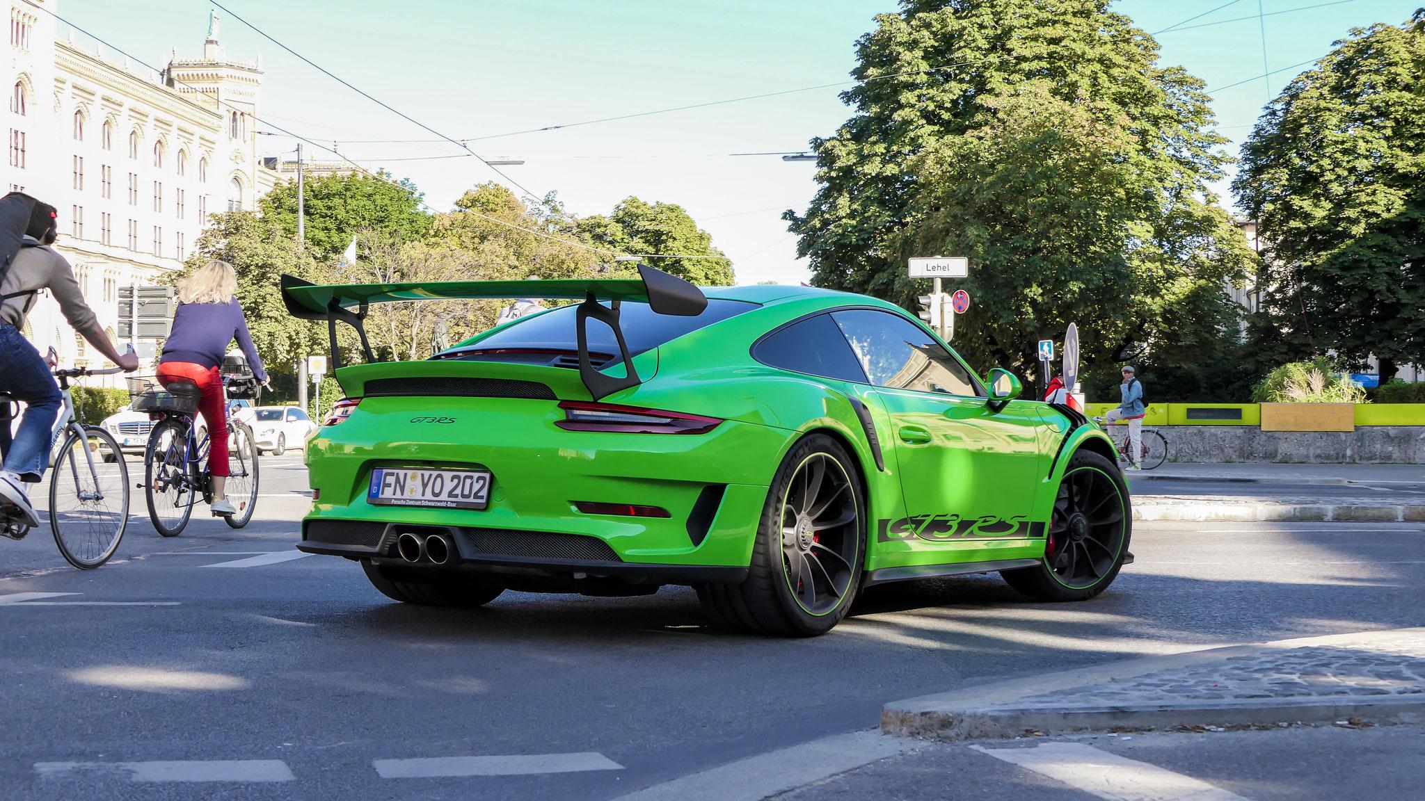Porsche 911 991.2 GT3 RS - FN-YO-202