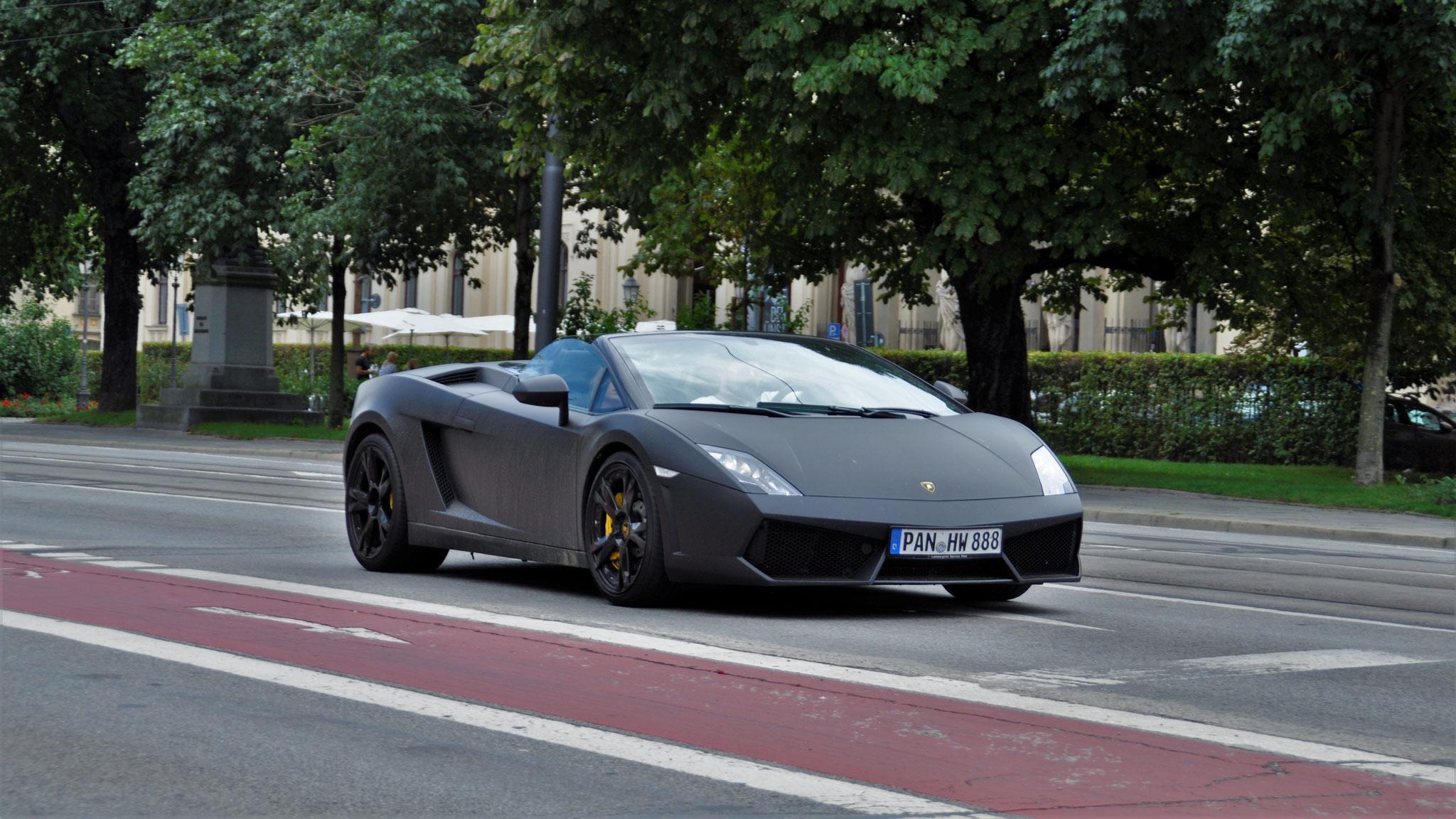 Lamborghini Gallardo LP 550 Spyder - PAN-HW-888