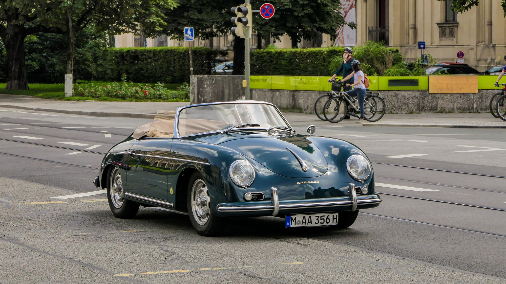 Porsche 356 1600 Speedster - M-AA-356H