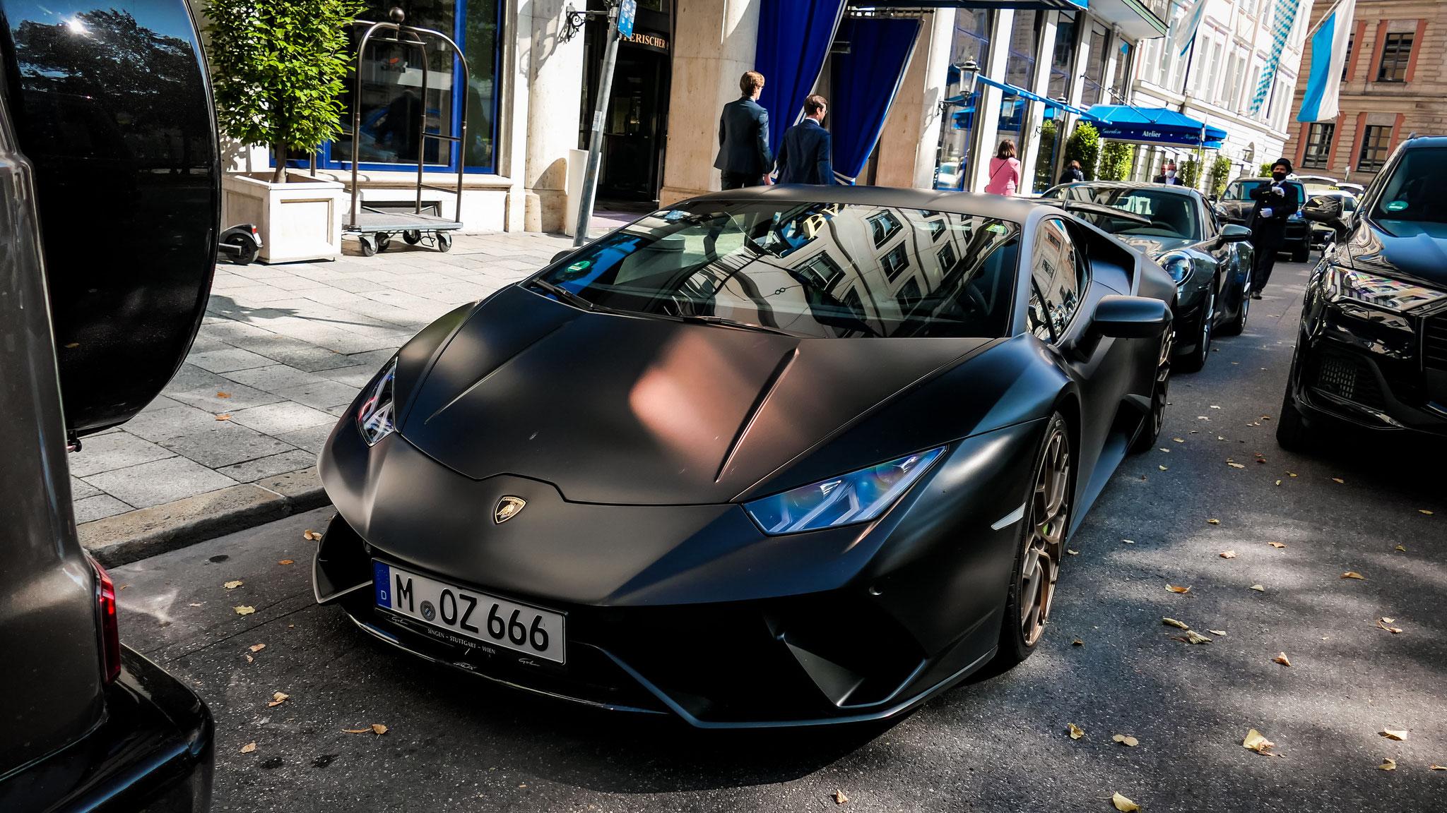 Lamborghini Huracan Performante - M-OZ-666