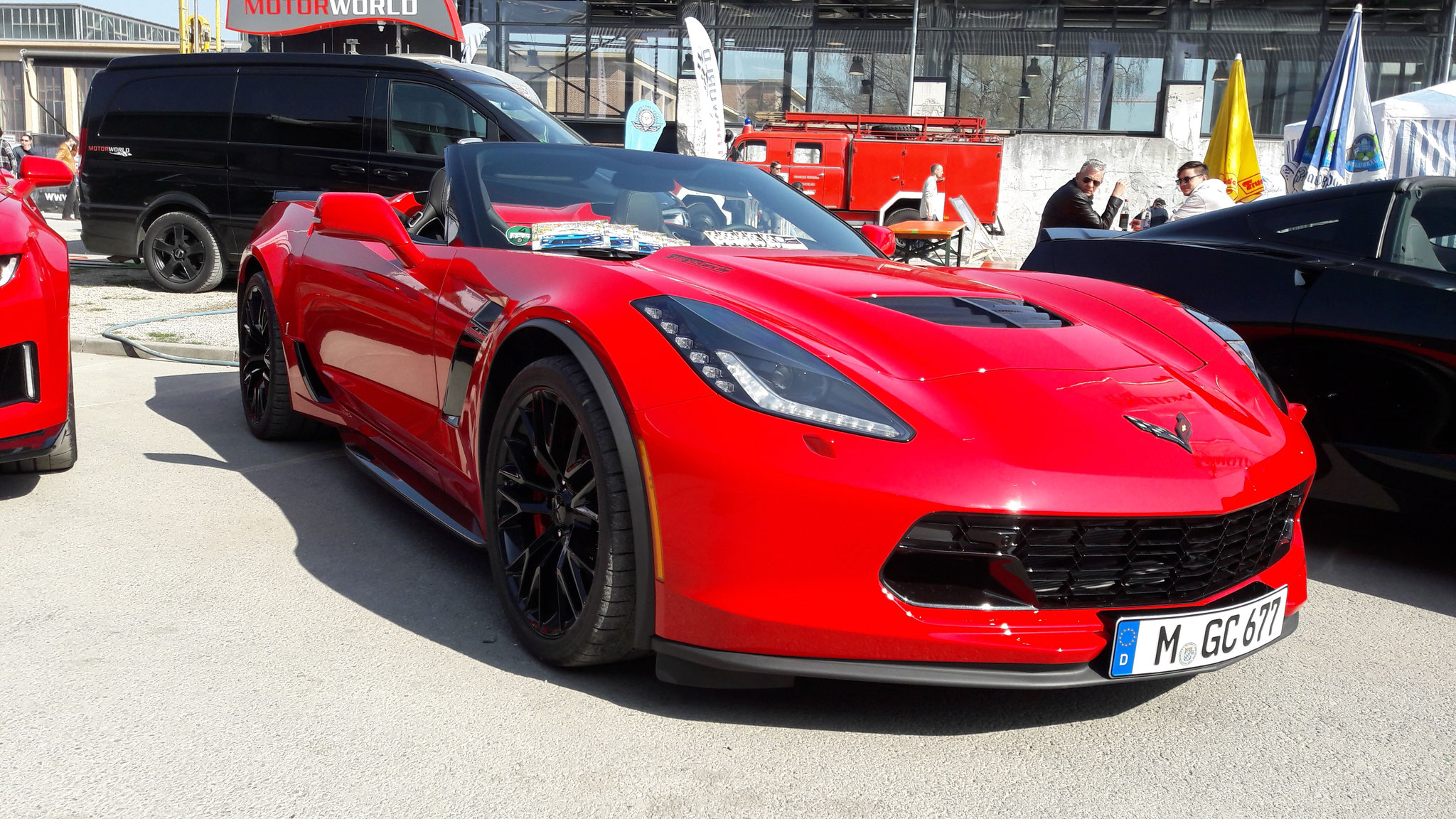Chevrolet Corvette C7 Z06 Convertible - M-GC-677