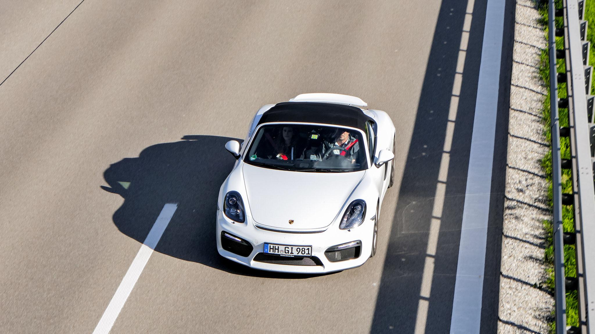 Porsche 718 Spyder - HH-GI-981