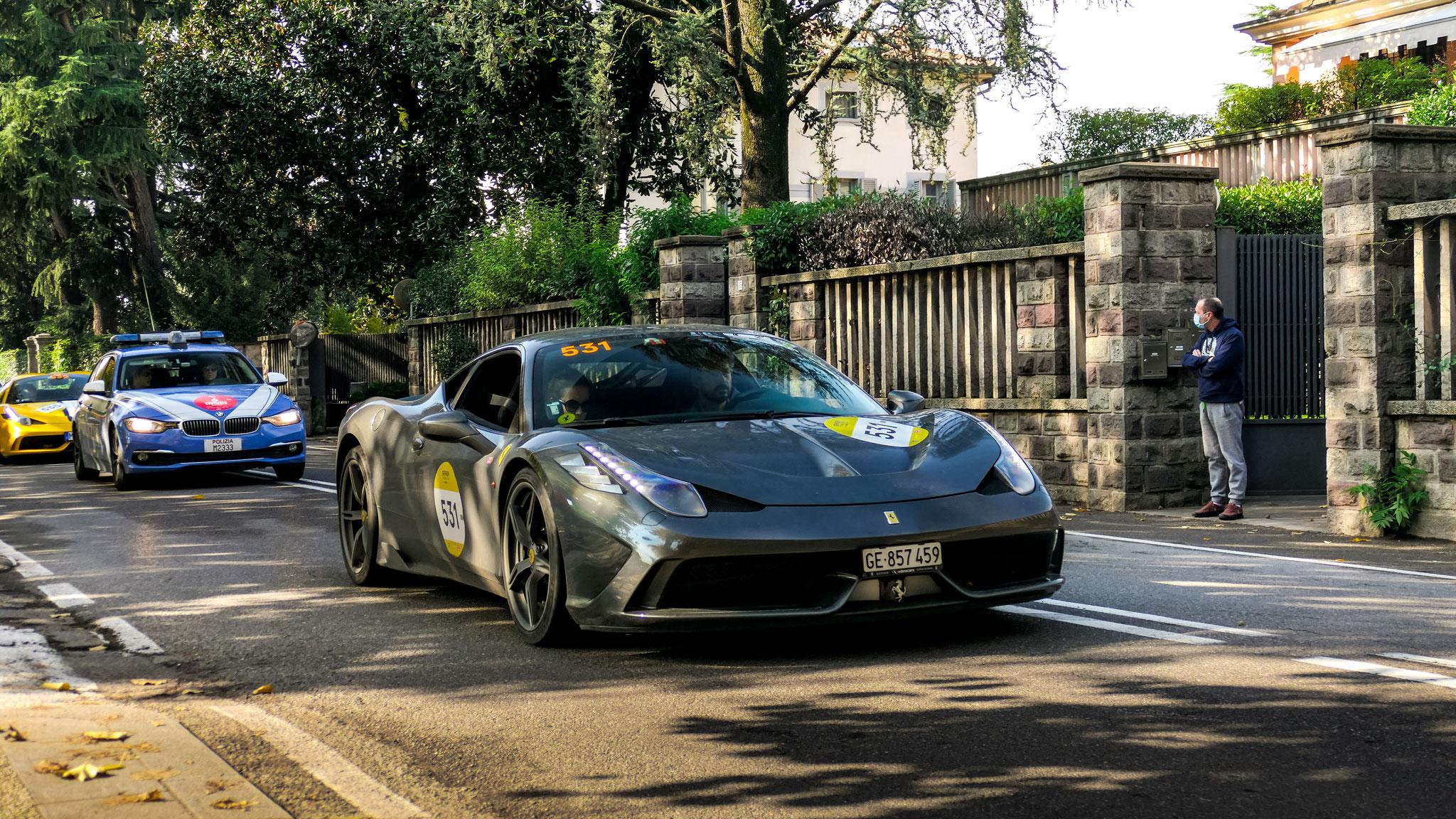 Ferrari 458 Speciale - GE-857459 (CH)
