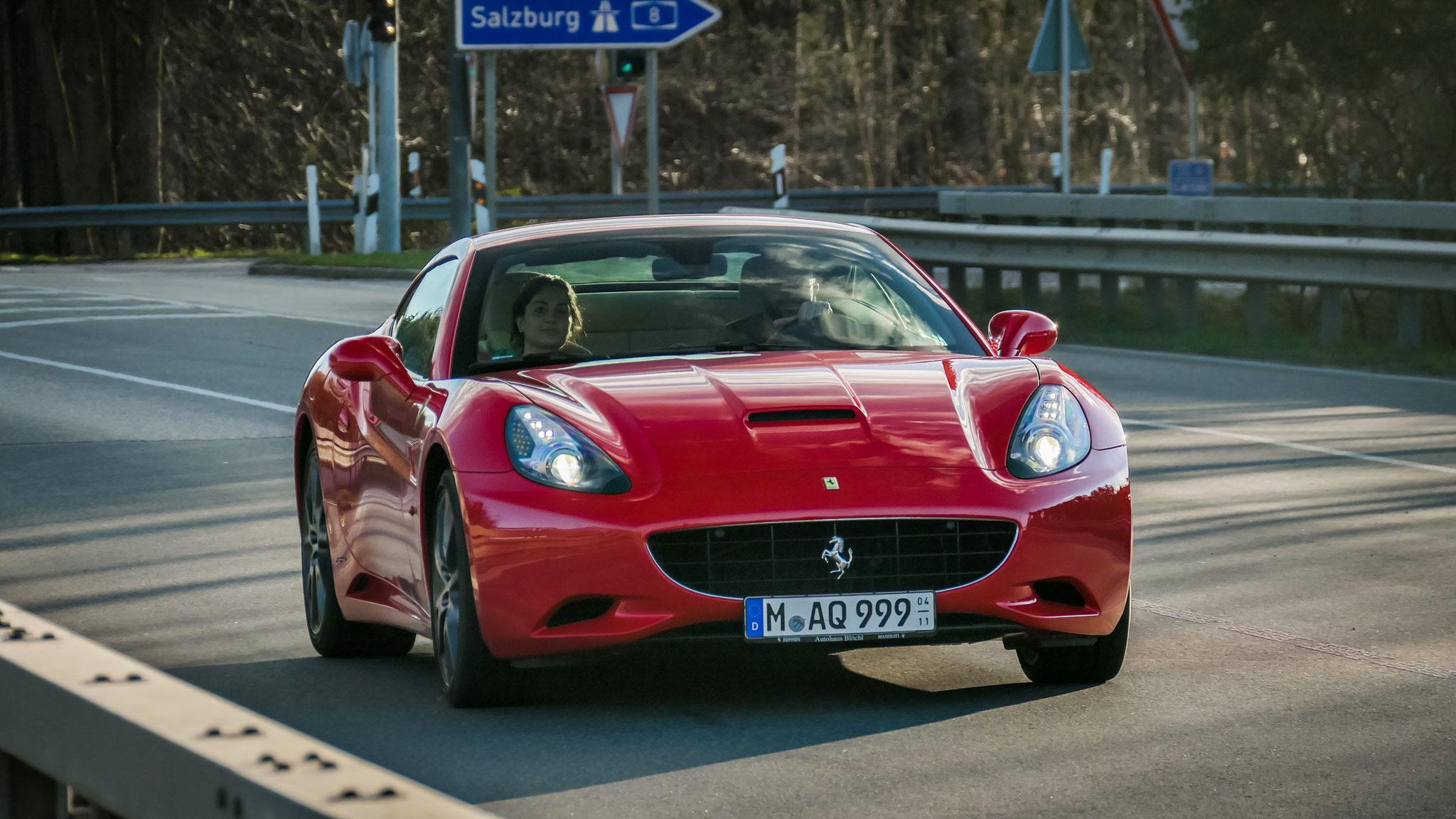 Ferrari California - M-AQ-999