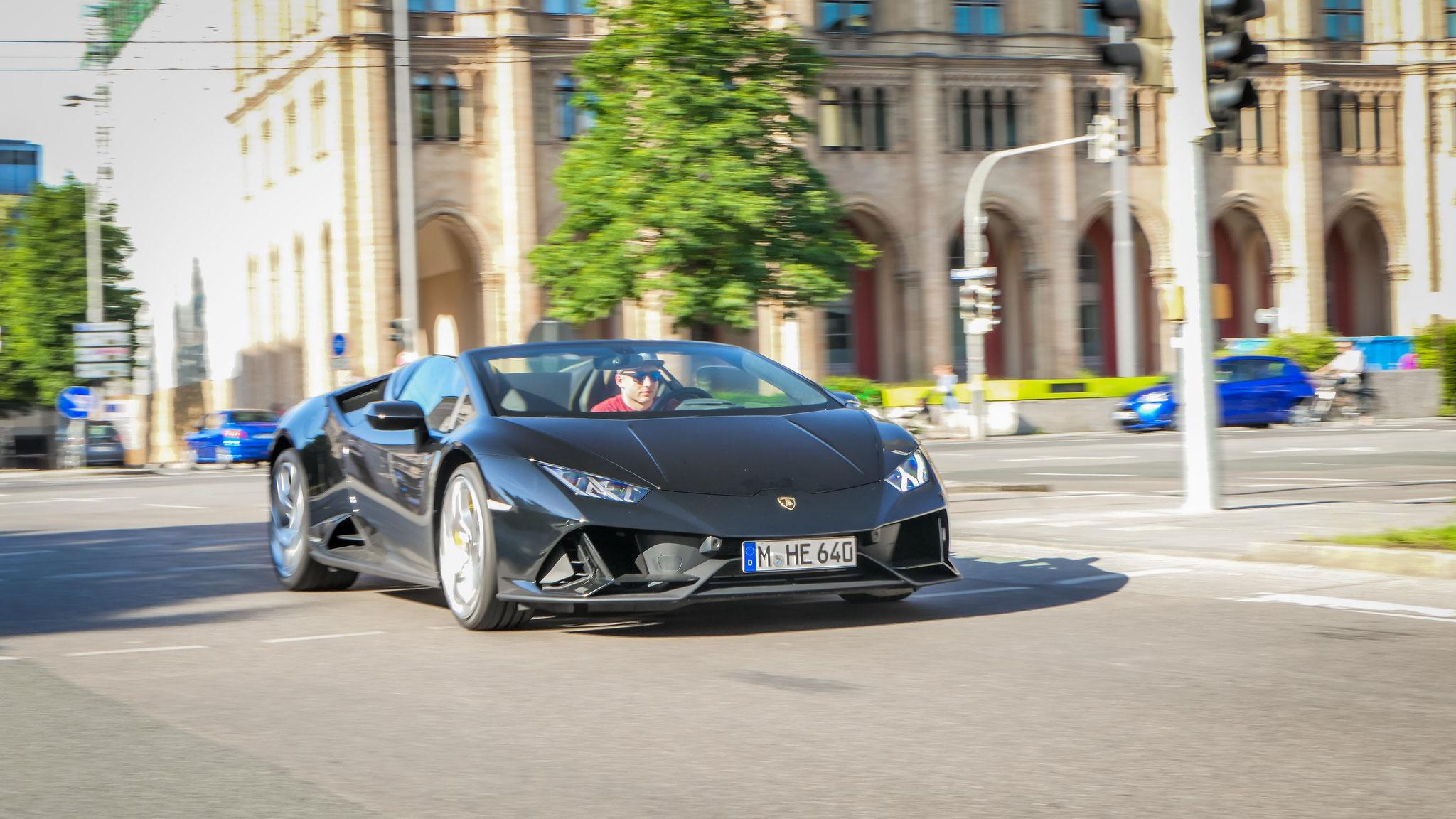 Lamborghini Huracan Evo Spyder - M-HE-640