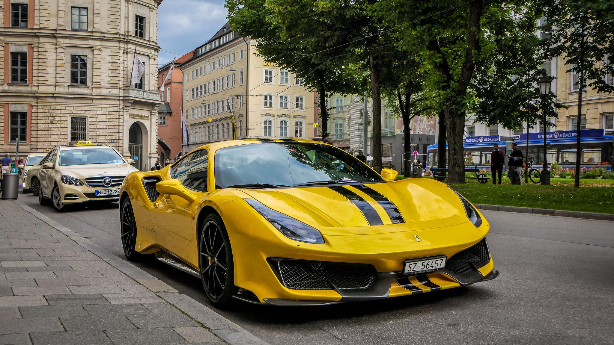 Ferrari 488 Pista - SZ-56457 (CH)