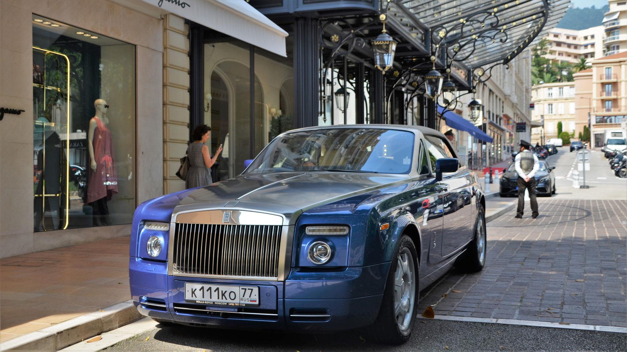 Rolls Royce Drophead - K-111-KO-77 (RUS)