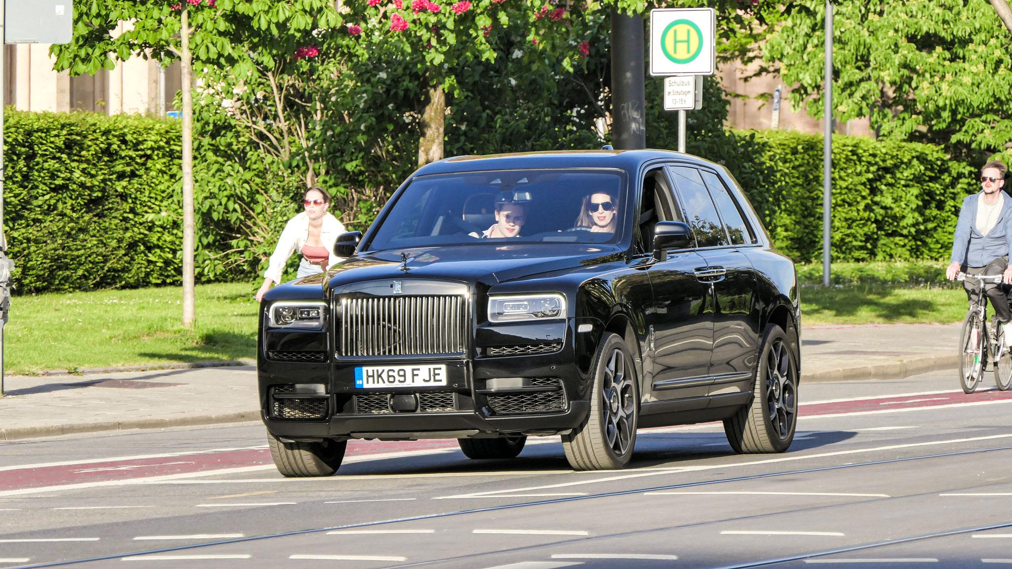 Rolls Royce Cullinan - HK69-FJE (GB)