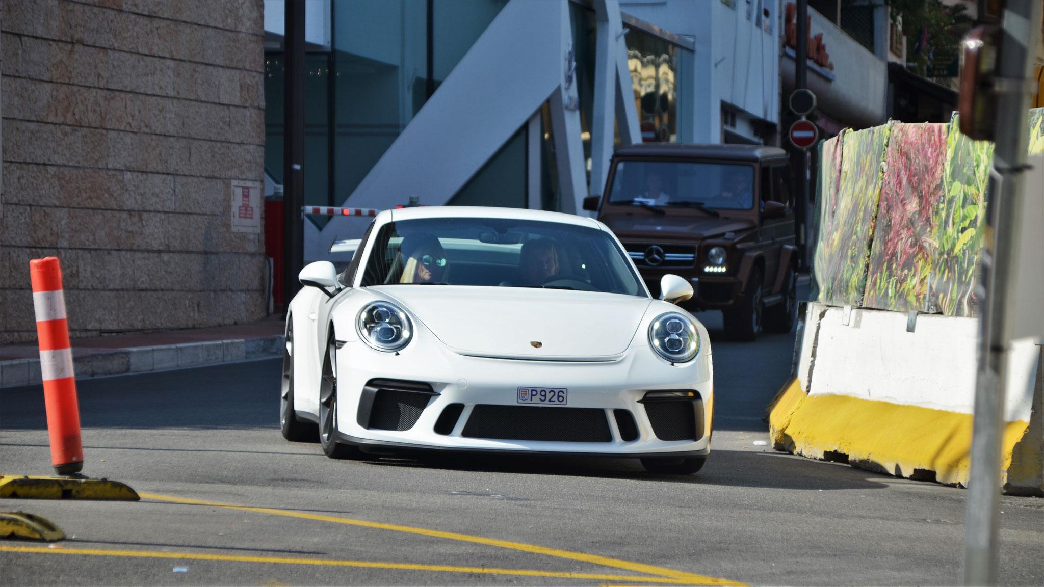 Porsche 991 GT3 - P926 (MC)