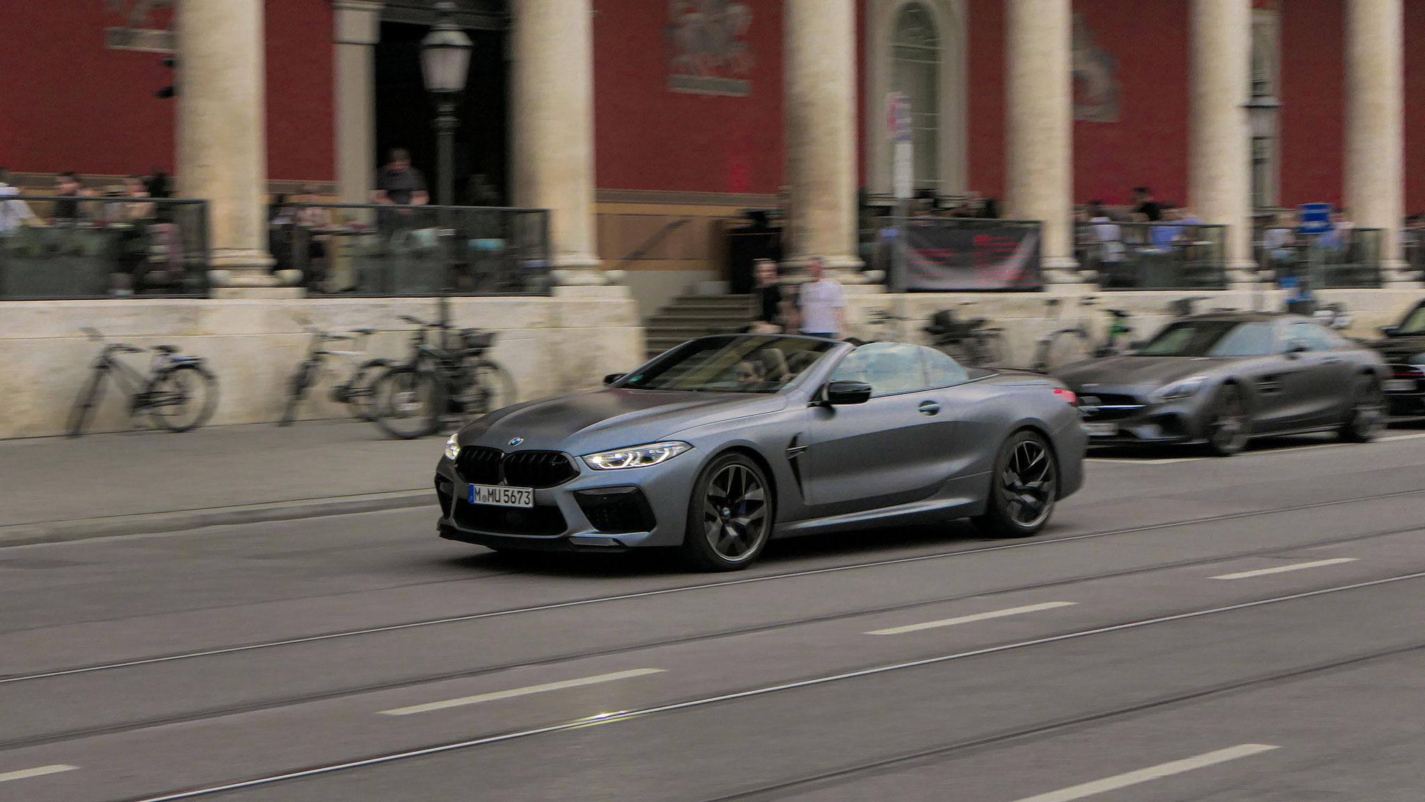 BMW M8 Competition Cabrio - M-MU-5673