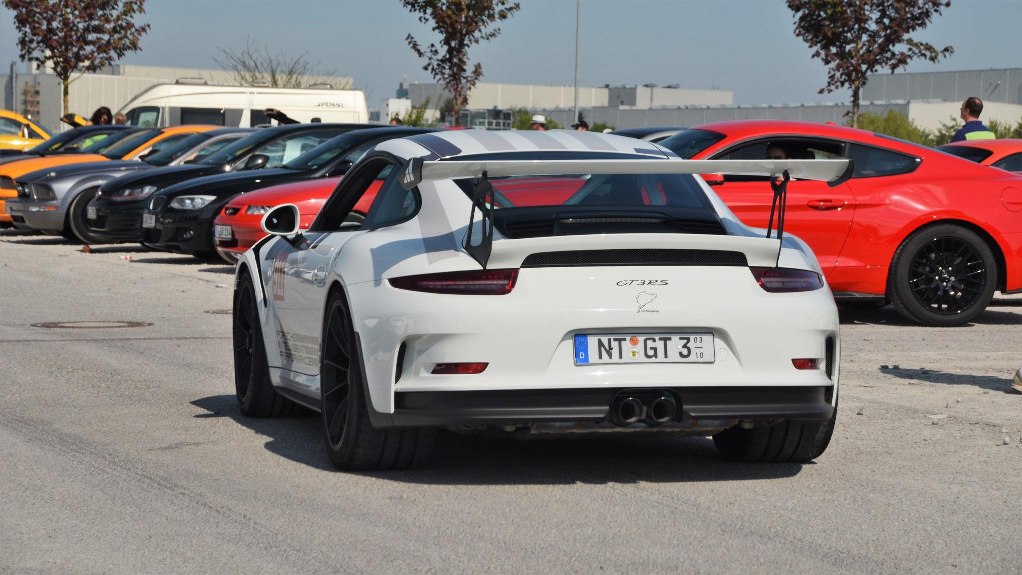 Porsche 911 GT3 RS - NT-GT-3