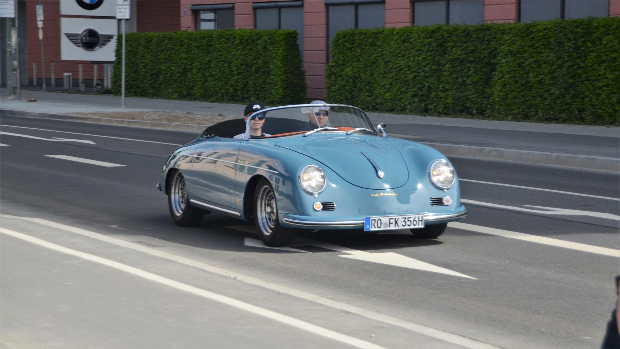 Porsche 356 1600 Super Speedster - RO-FK-356H