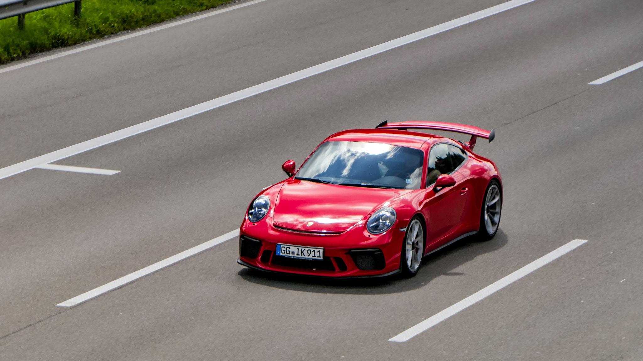 Porsche 991 GT3 - GG-IK-911