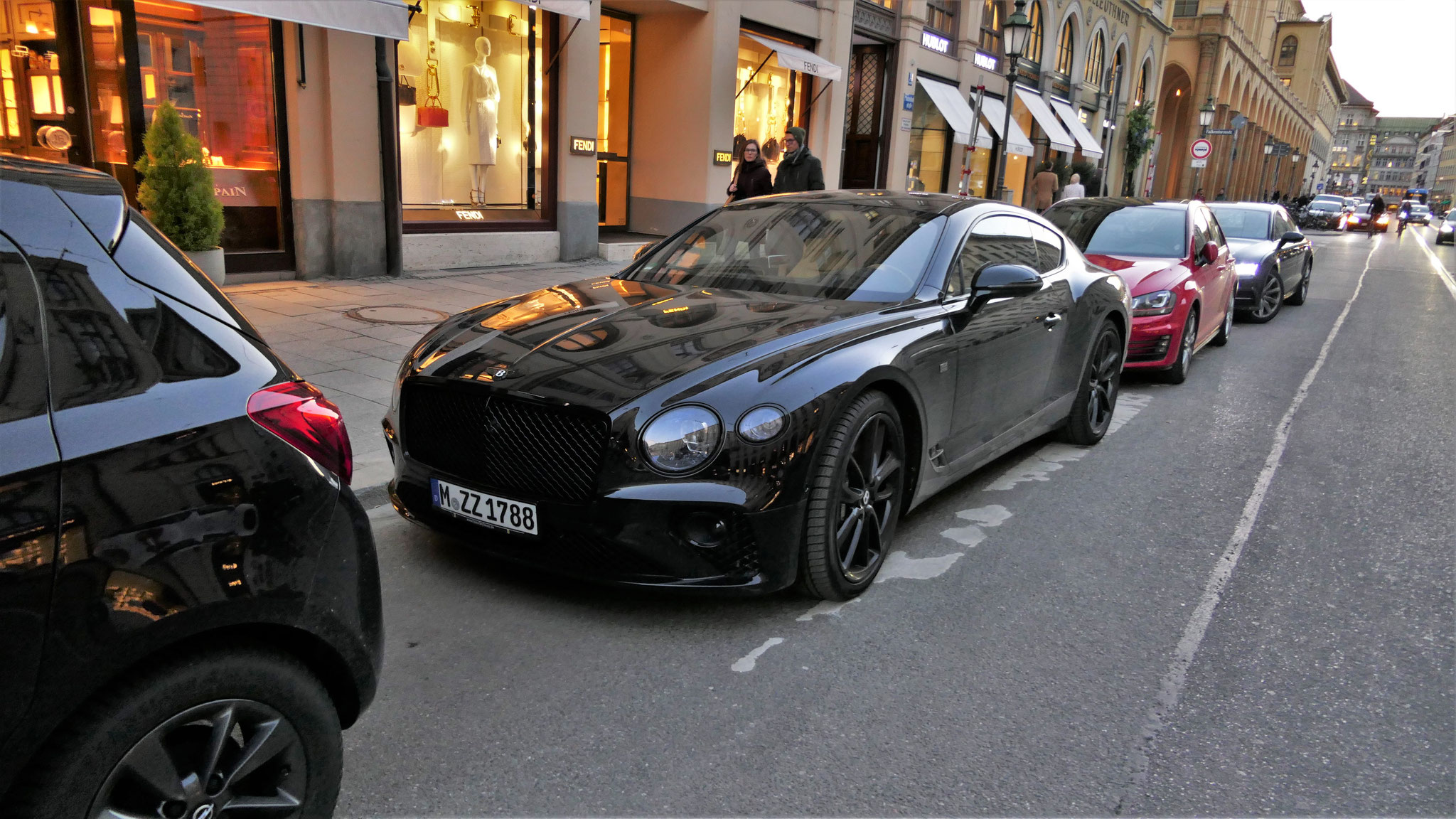 Bentley Continental GT Edition 1 - M-ZZ-1788