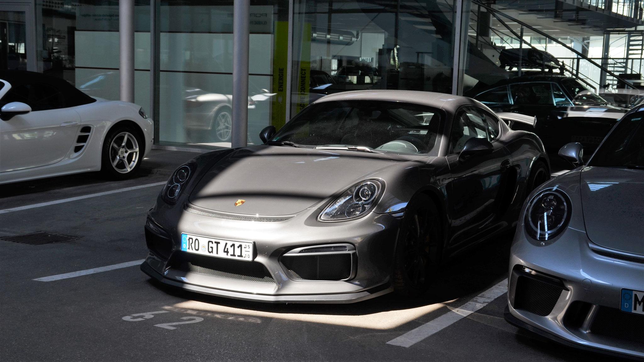 Porsche Cayman GT4 - RO-GT-411