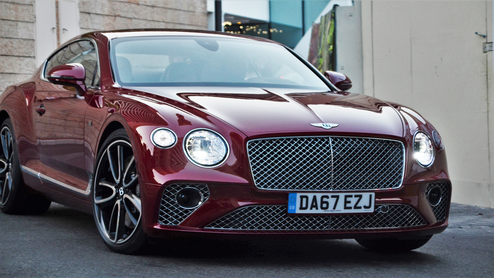 Bentley Continental GT - DA67-EZJ (GB)