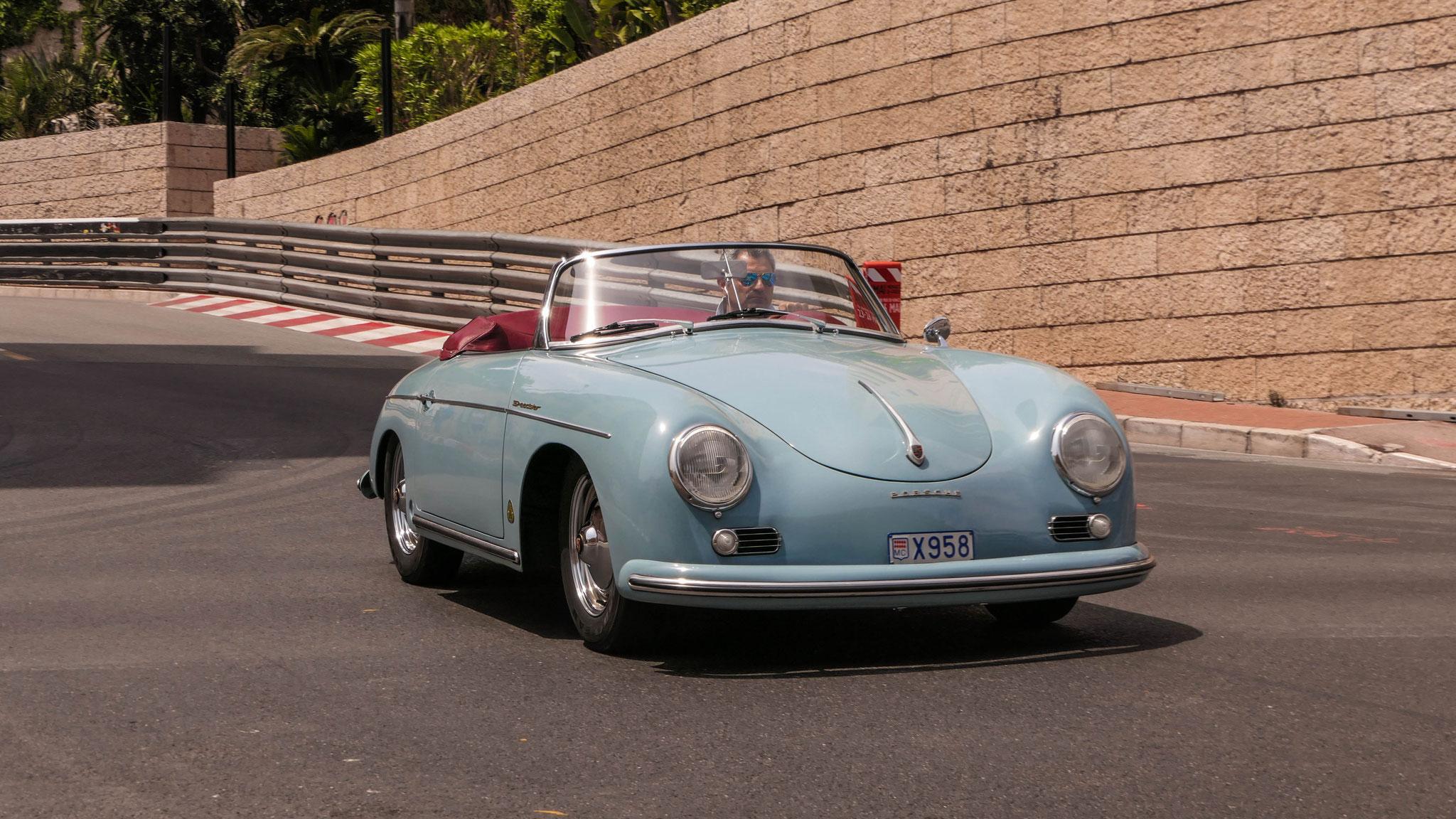 Porsche 356 1600 Super Speedster - X958 (MC)