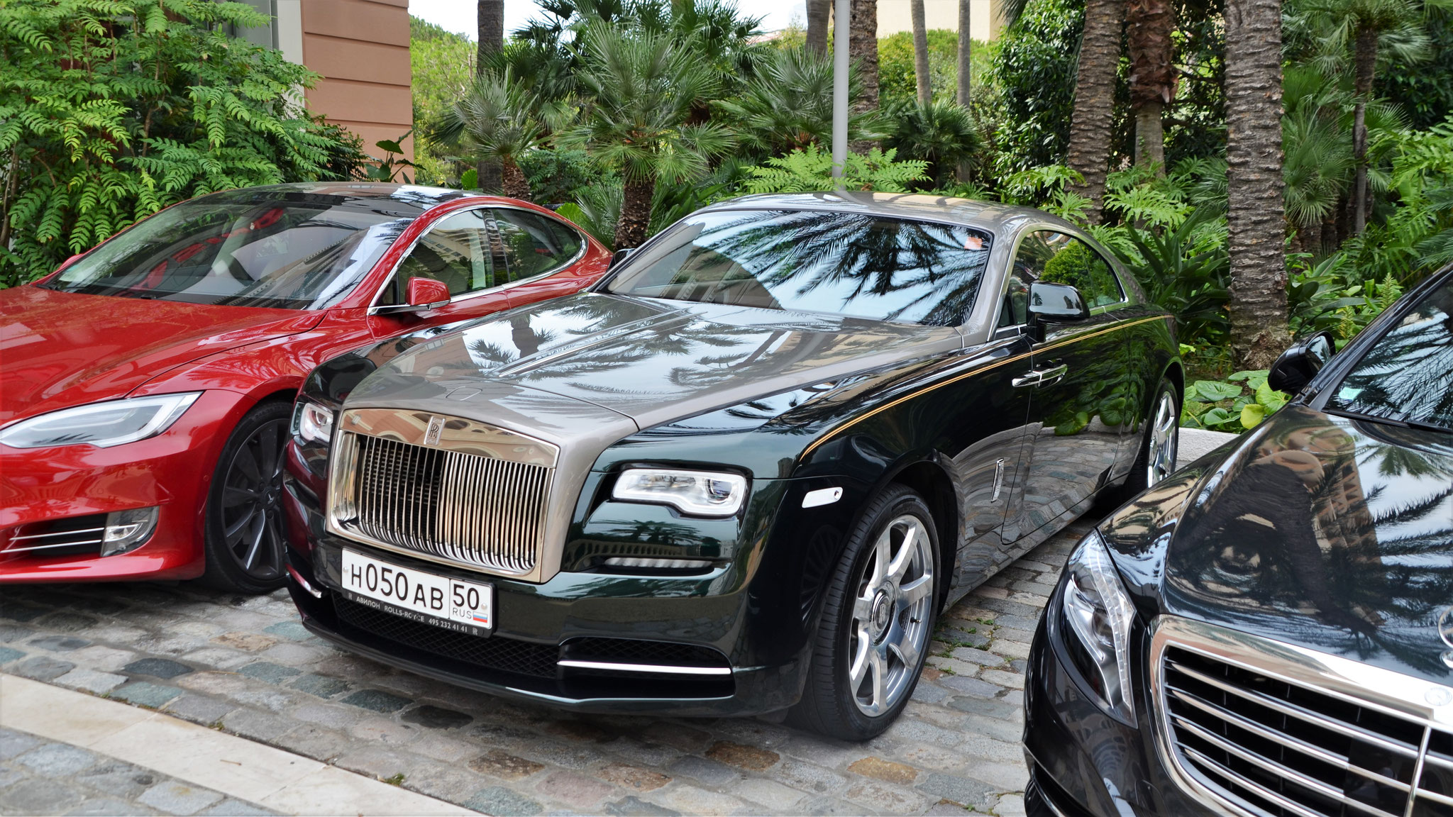Rolls Royce Wraith - H-050-AB-50 (RUS)