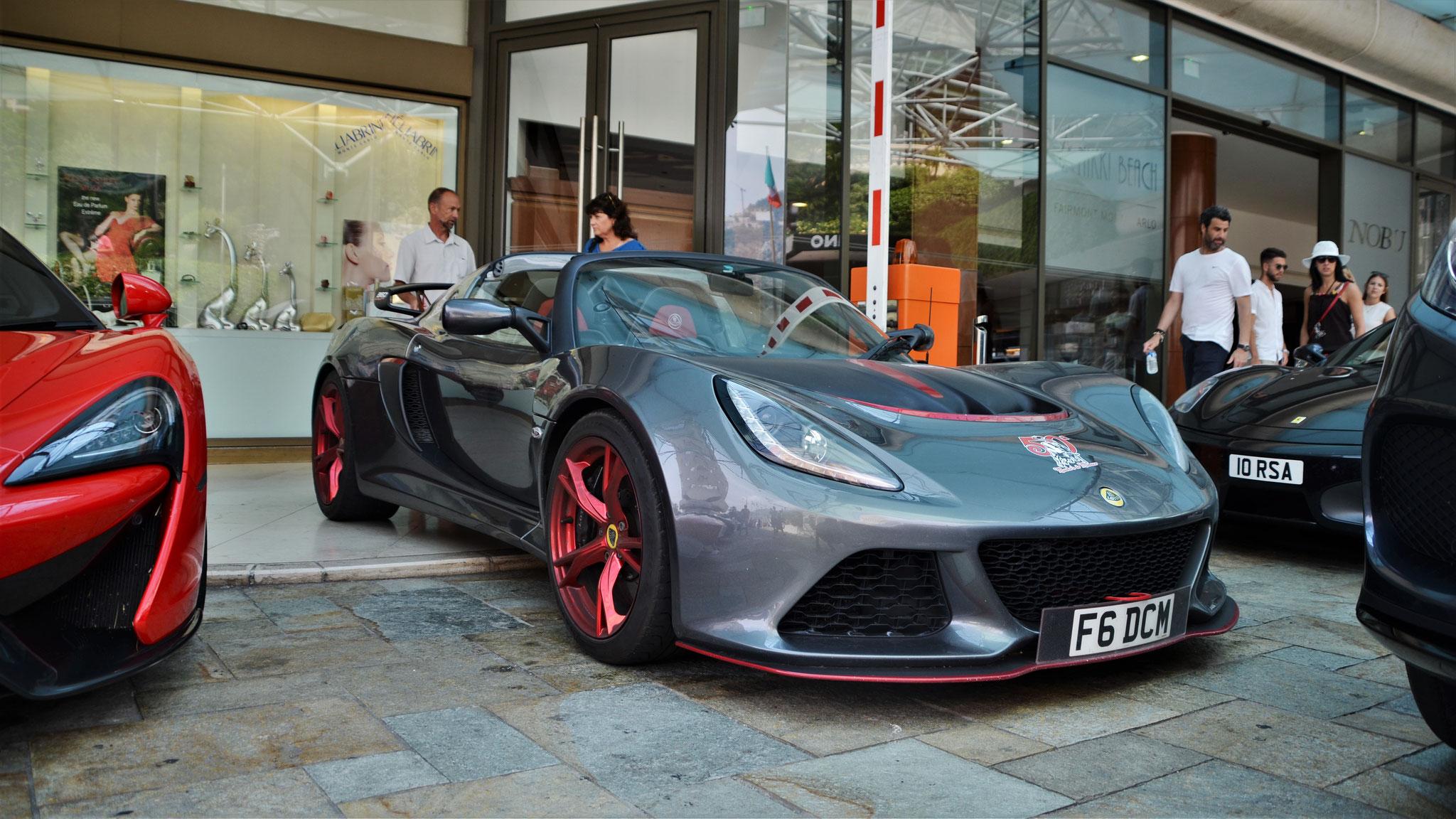Lotus Exige 360 Cup - F6-DCM (GB)