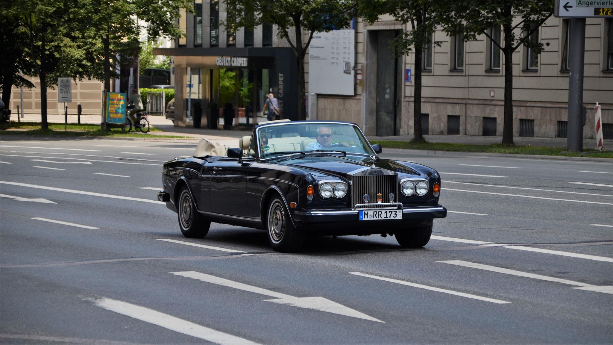 Rolls Royce Corniche - M-RR-173