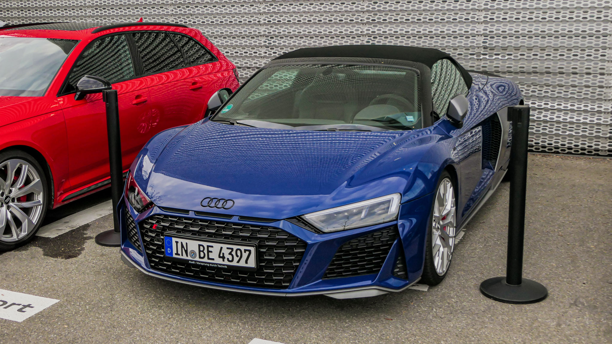 Audi R8 V10 Spyder - IN-BE-4397