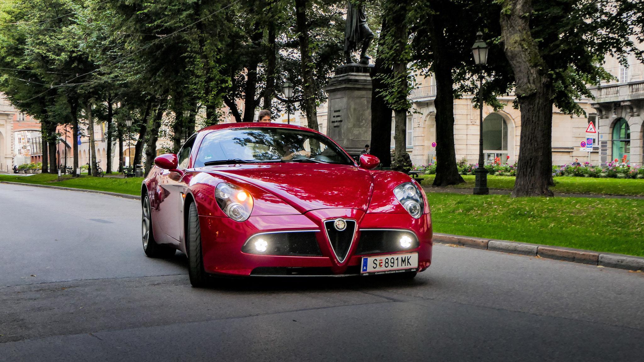 Alfa Romeo 8C - S-891-MK (AUT)