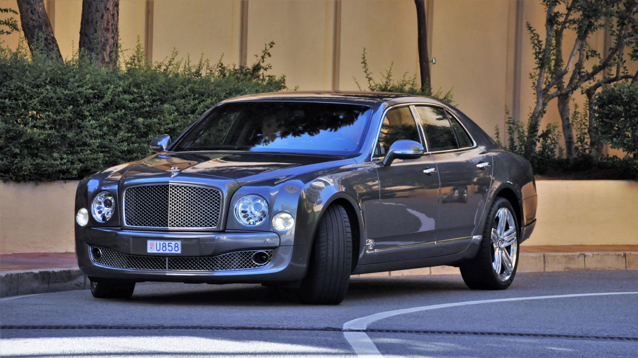 Bentley Mulsanne - U858 (MC)