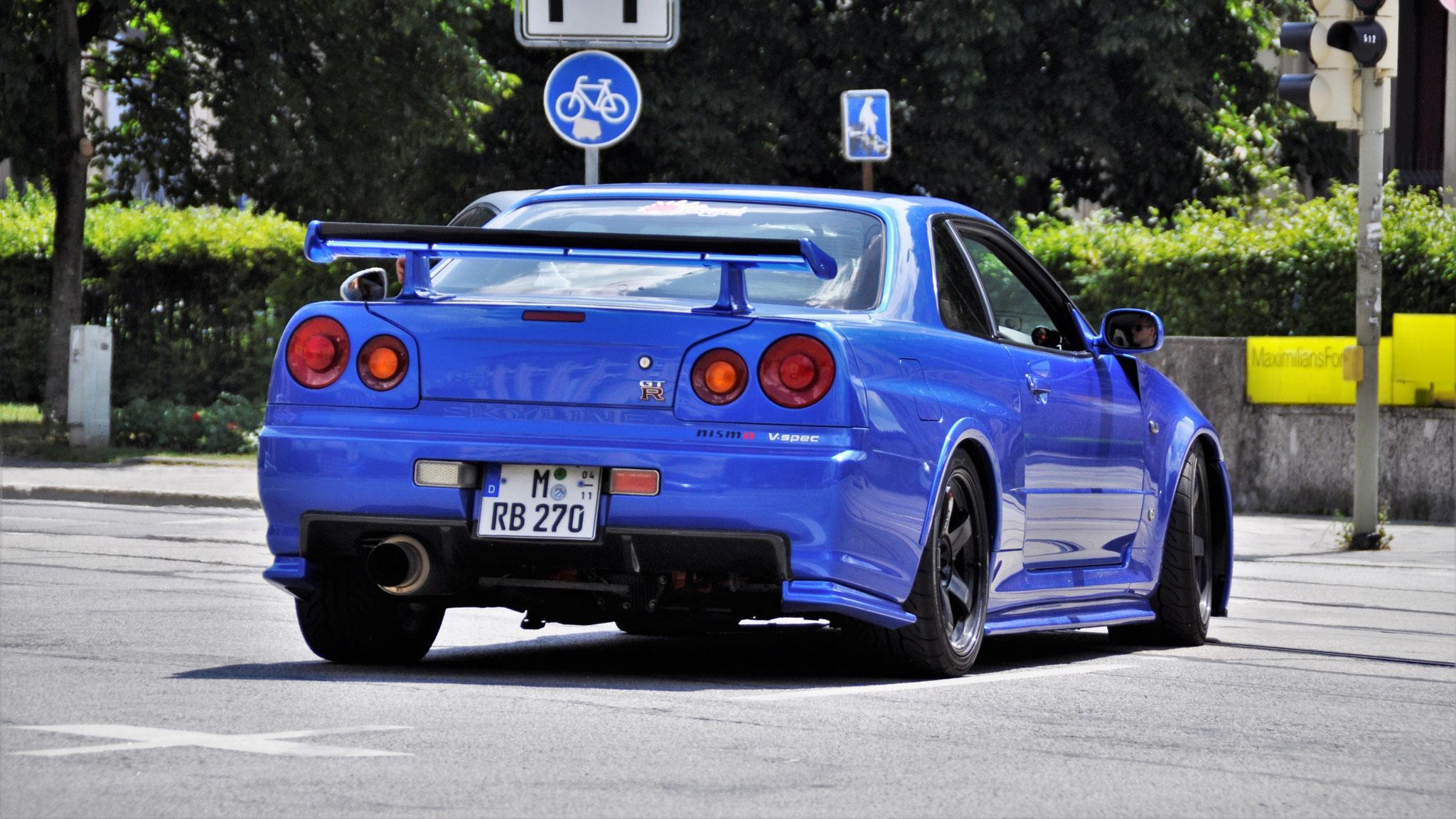 Nissan R34 GT-R V.spec - M-RB-270