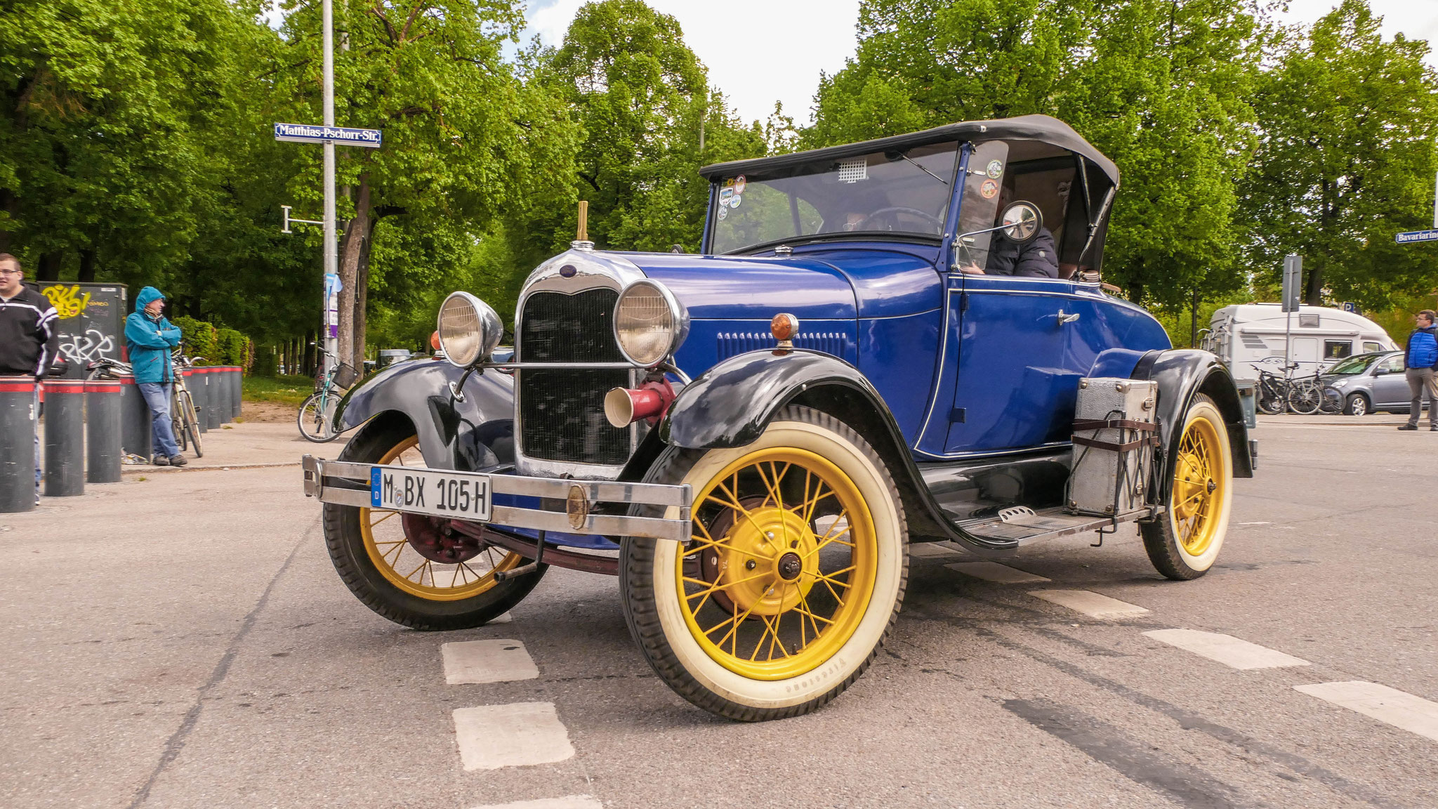 Ford Model A - M-BX-105H