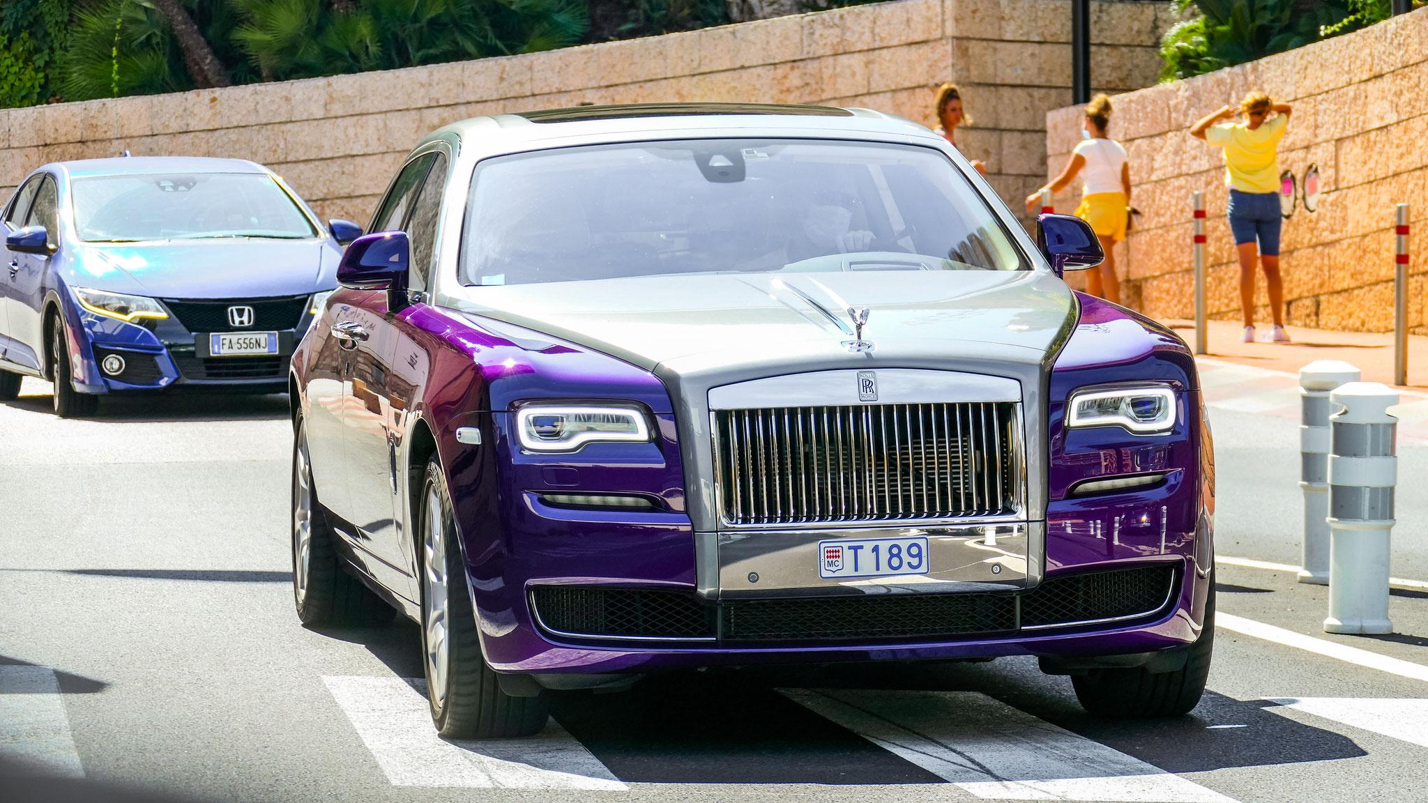Rolls Royce Ghost Series II - T189 (MC)