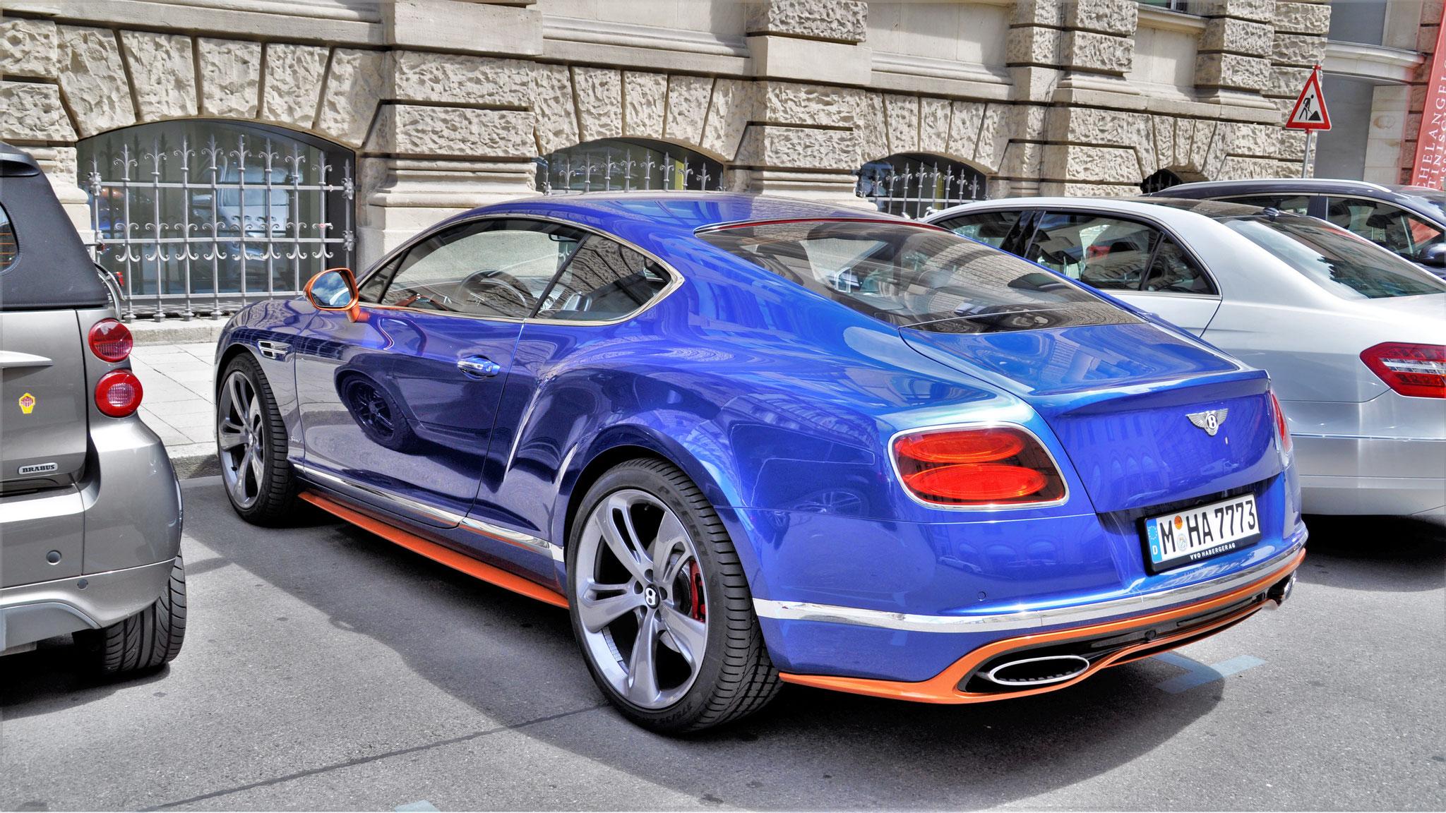Bentley Continental GT Speed - M-HA-7773