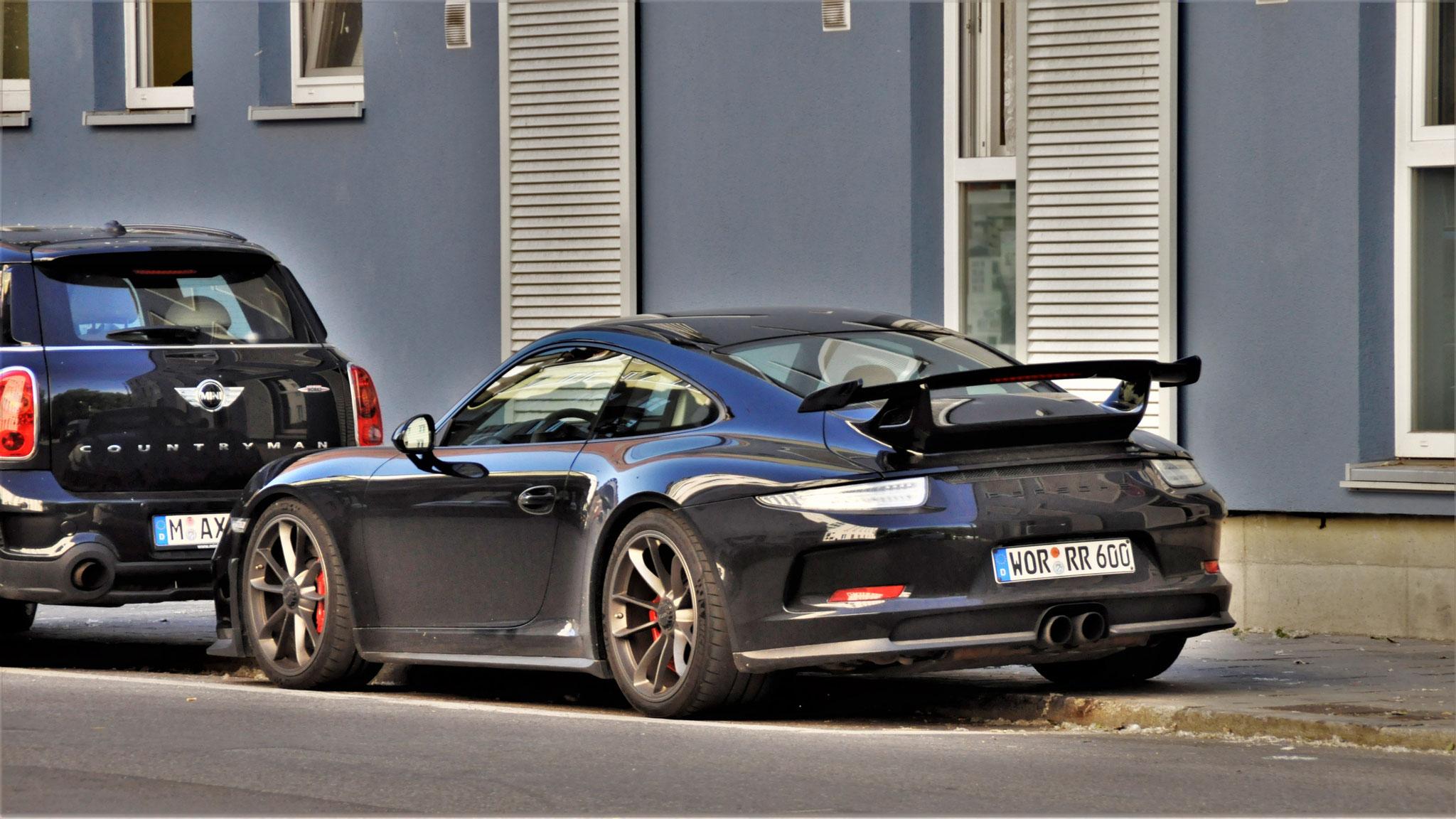 Porsche 991 GT3 - WOR-RR-600