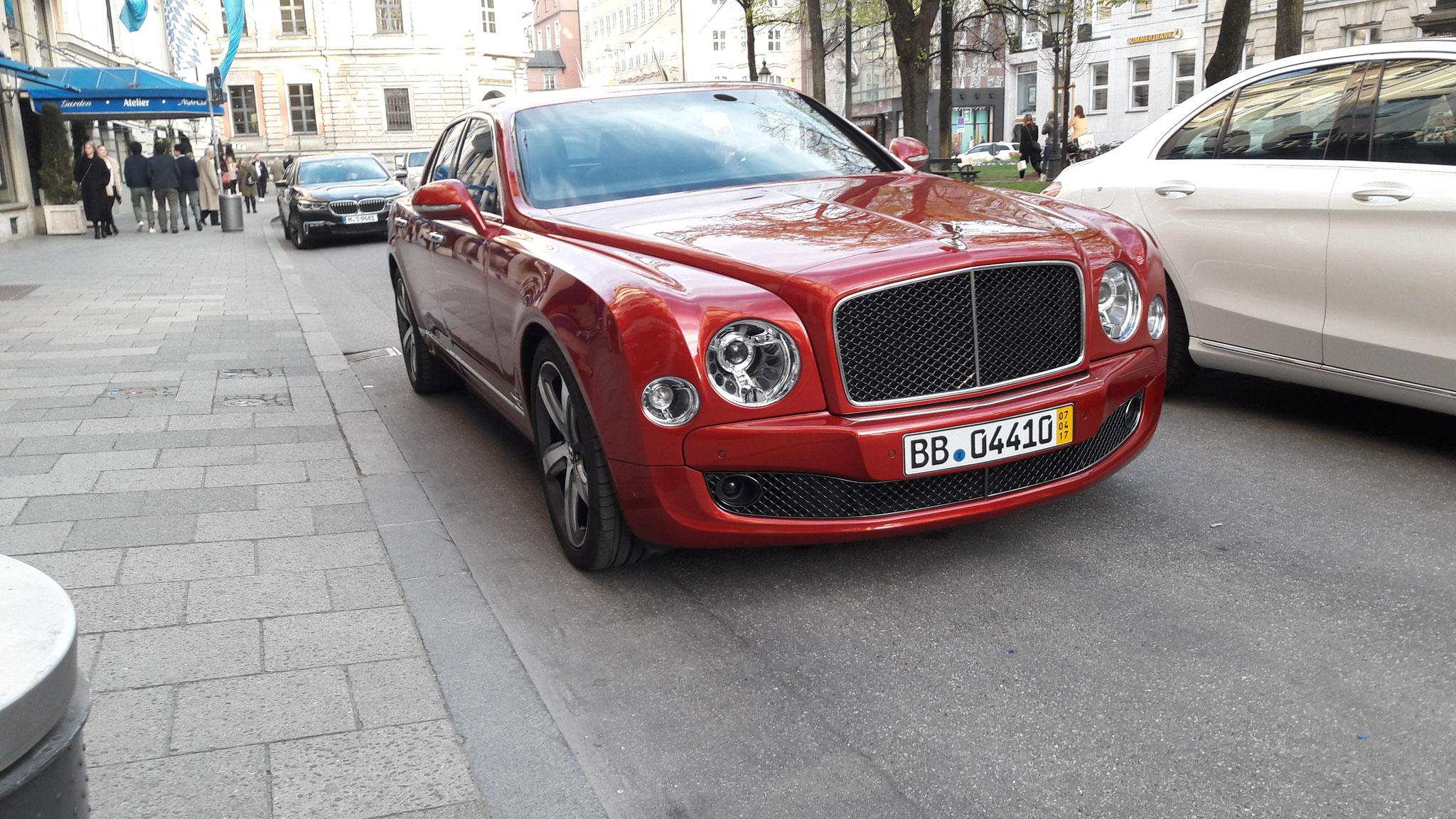 Bentley Mulsanne - BB-04410