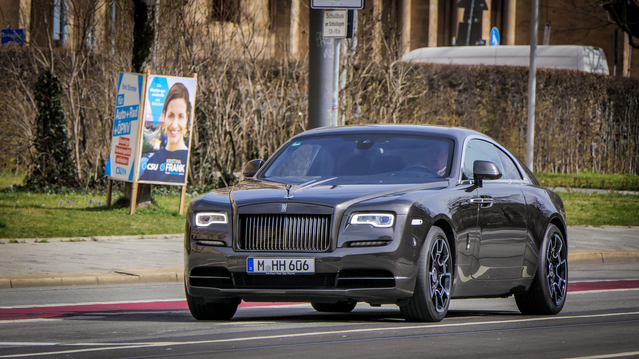 Rolls Royce Wraith Black Badge - M-HH-606