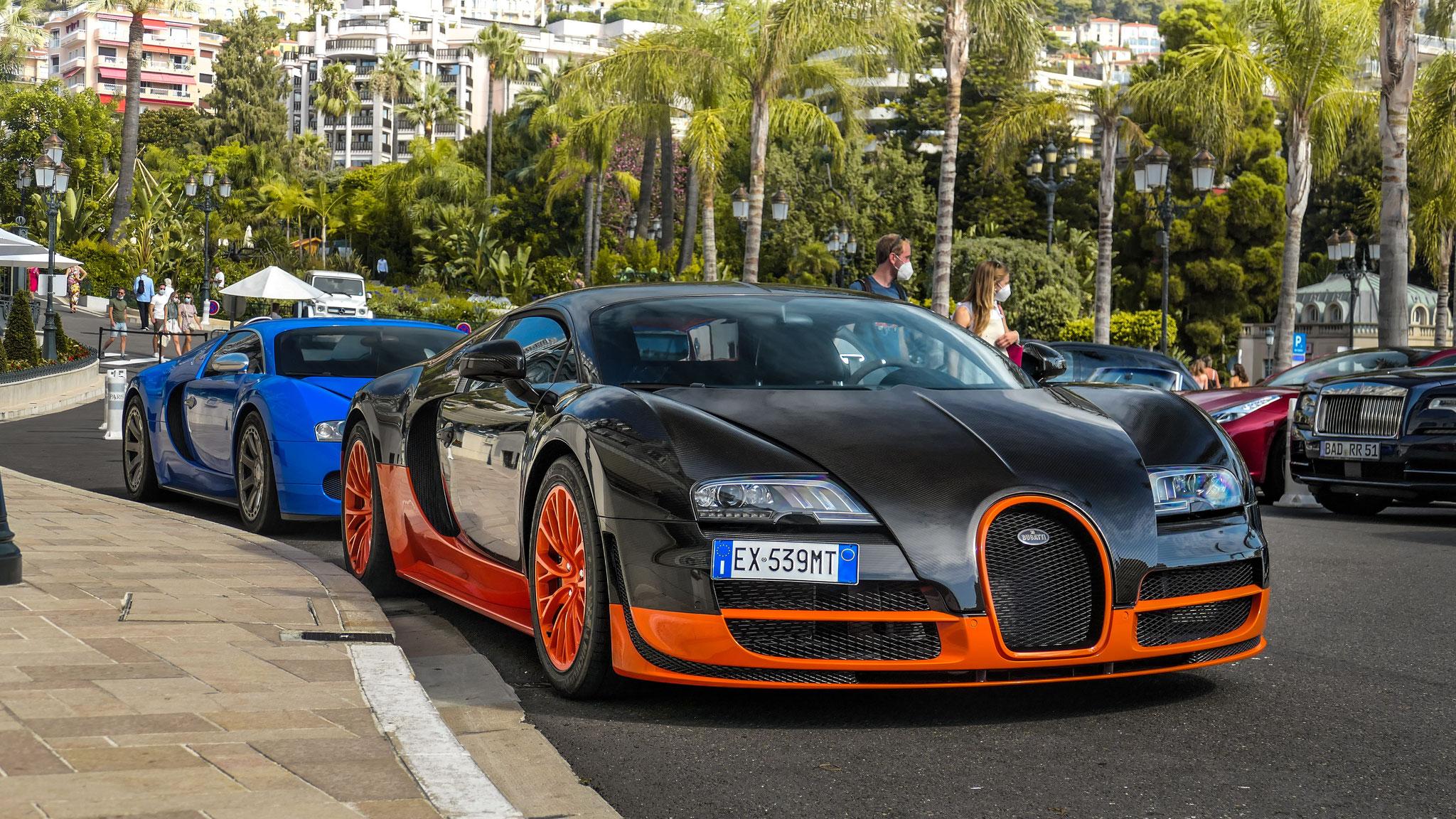 Bugatti Veyron Super Sport WRE - EX-539-MT (ITA)